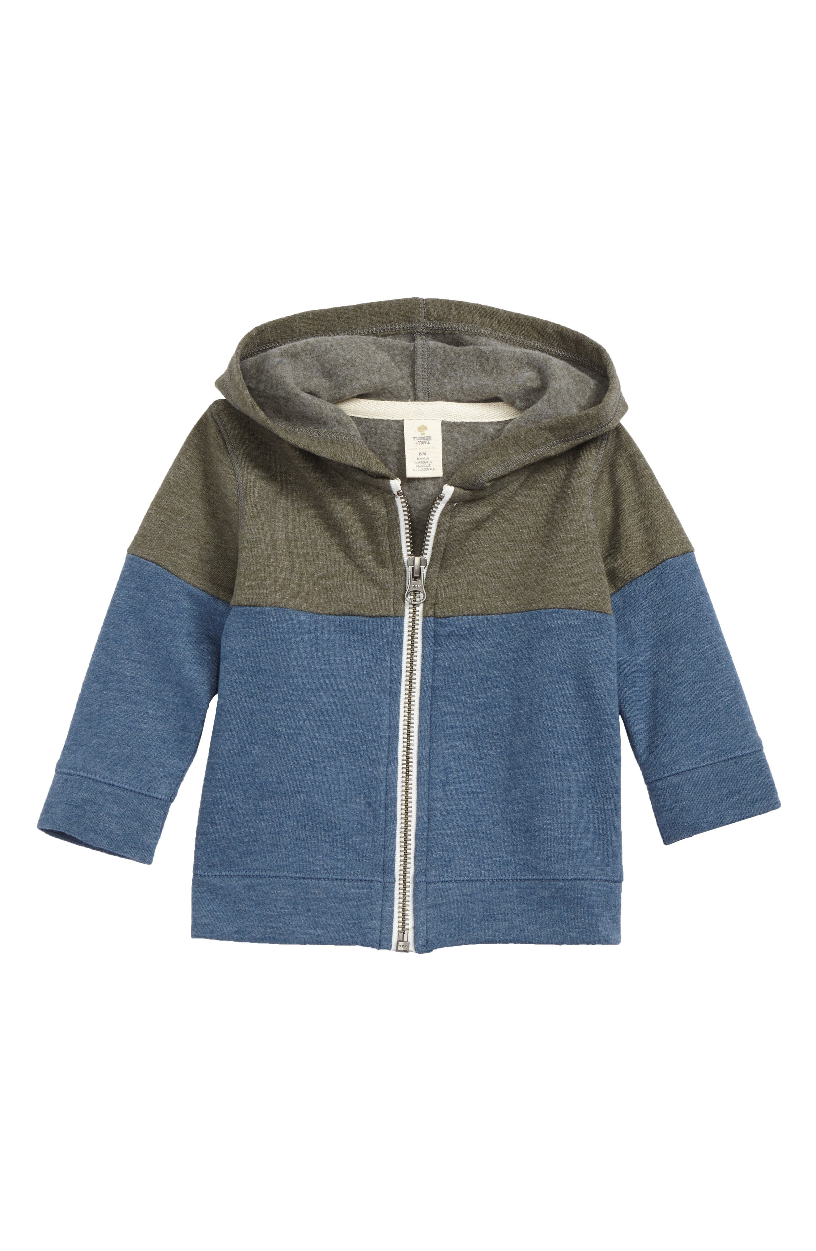 Tucker + Tate Colorblock Fleece Zip Hoodie (Baby Boys)
