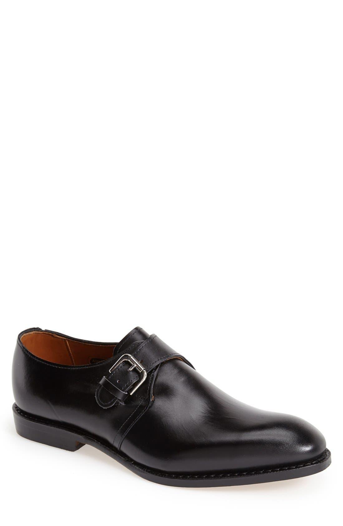ALLEN EDMONDS Warwick Monk Strap Shoe