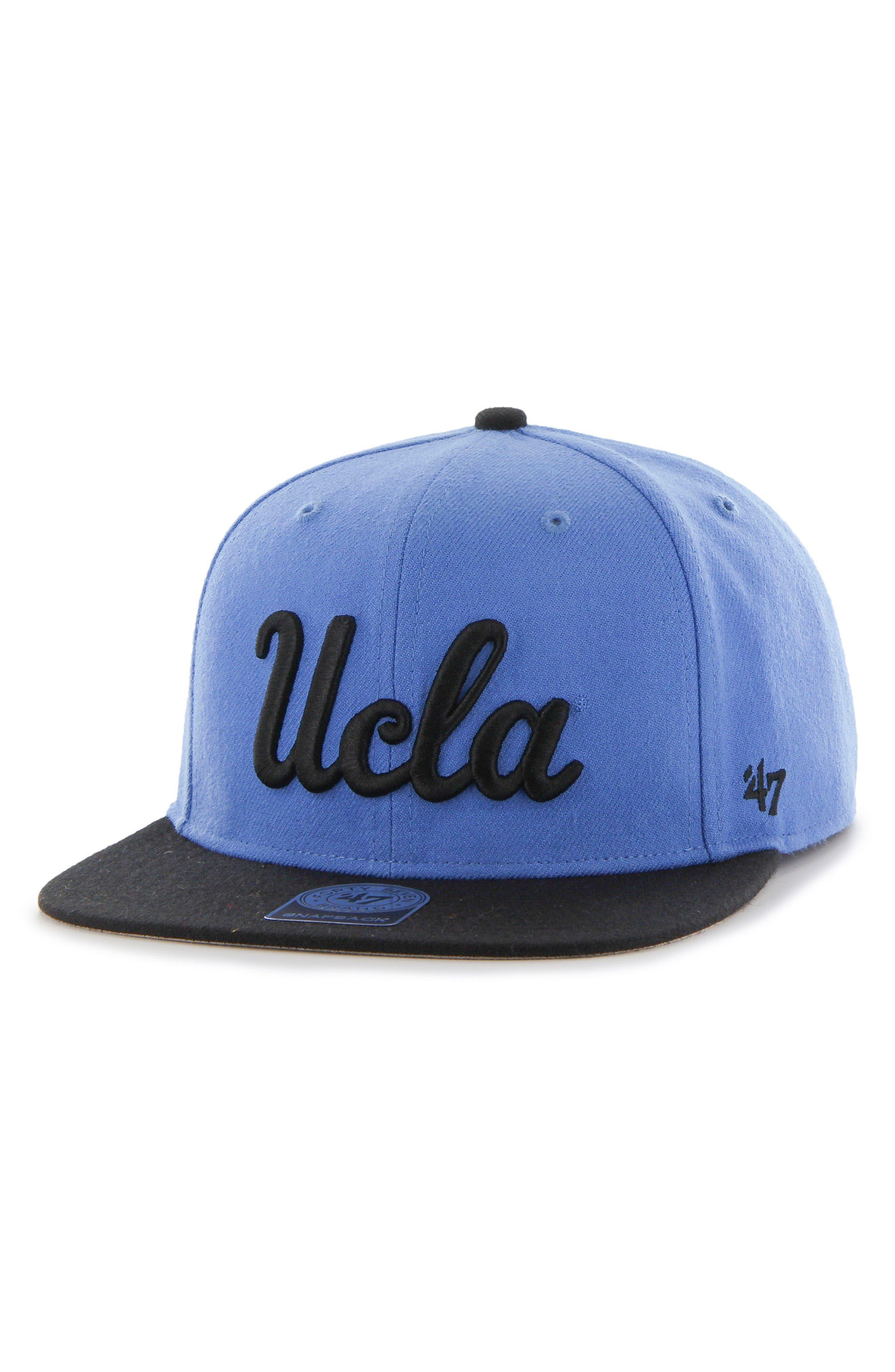 Collegiate Two Tone Wool Cap,                             Main thumbnail 1, color,                             Blue Ucla Bruins