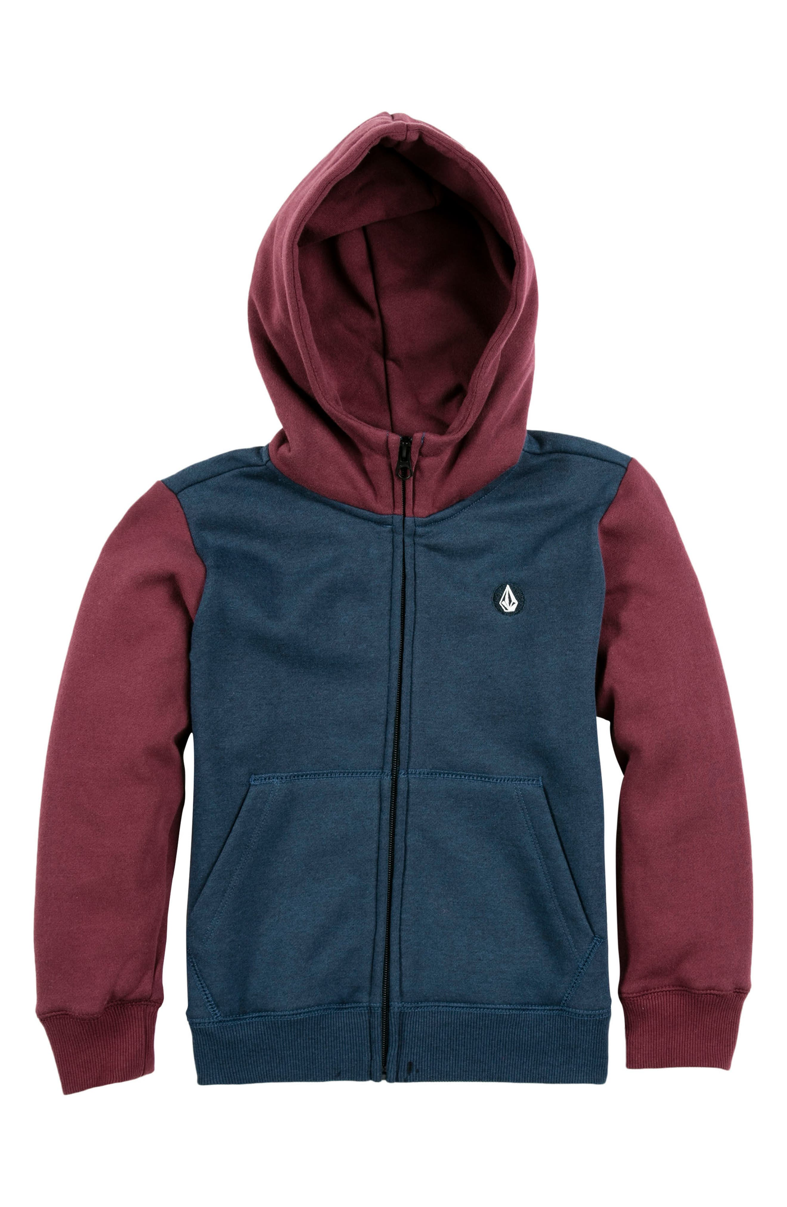 Main Image - Volcom Single Stone Zip Hoodie (Toddler Boys & Little Boys)