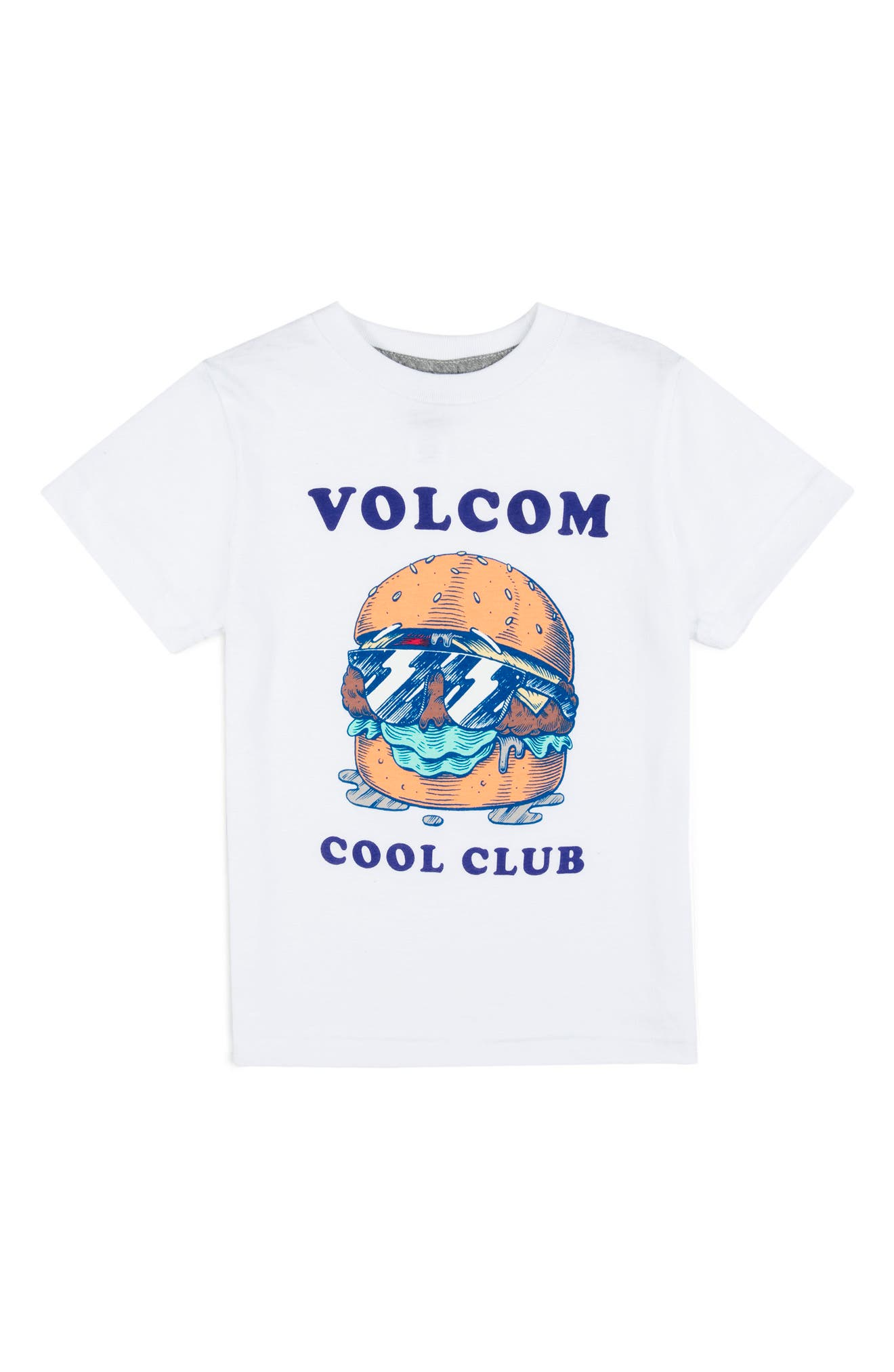Cool Club Graphic T-Shirt,                             Main thumbnail 1, color,                             White
