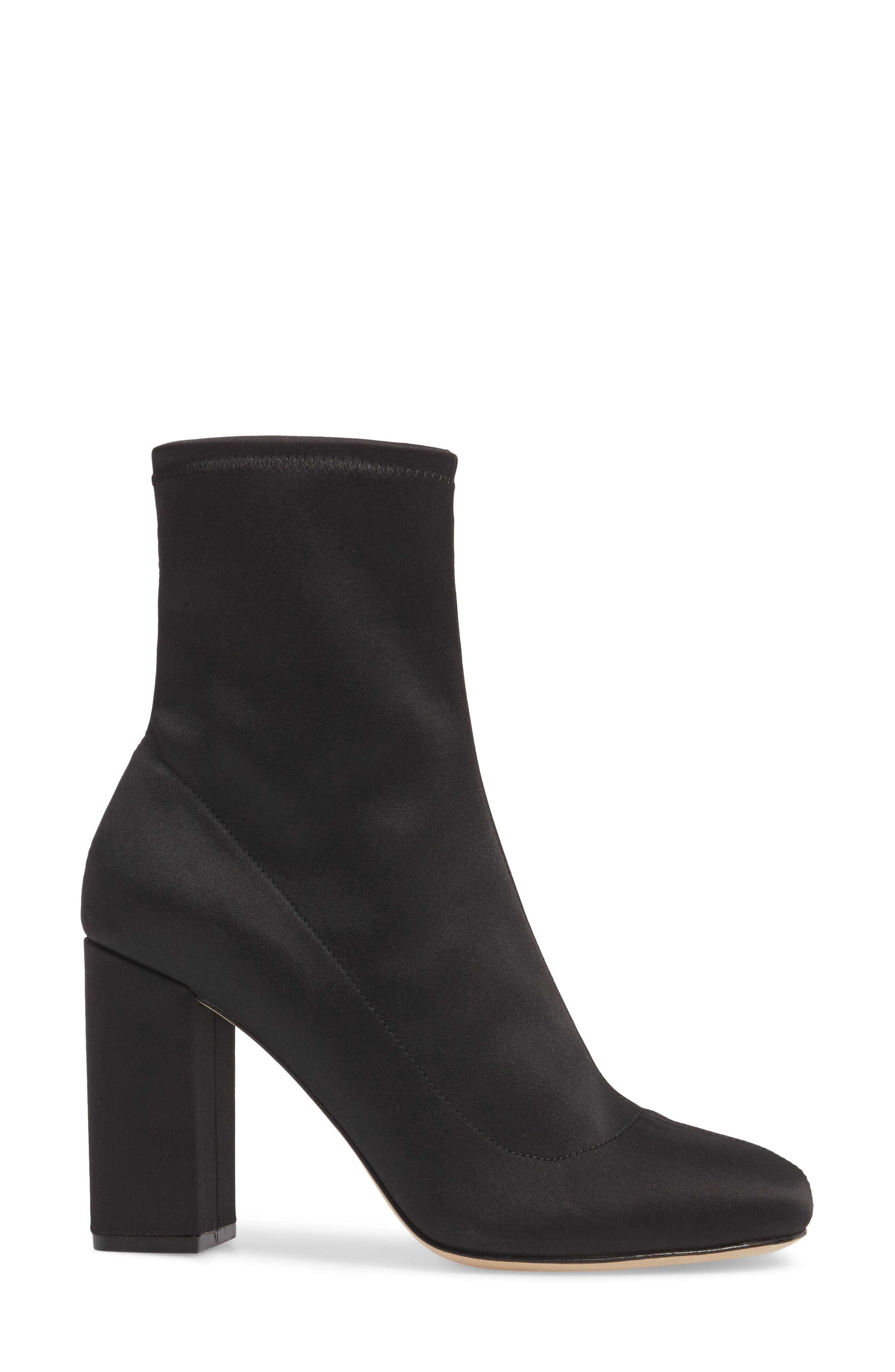 Alternate Image 3  - Joie Sabriyya Sock Satin Bootie (Women)