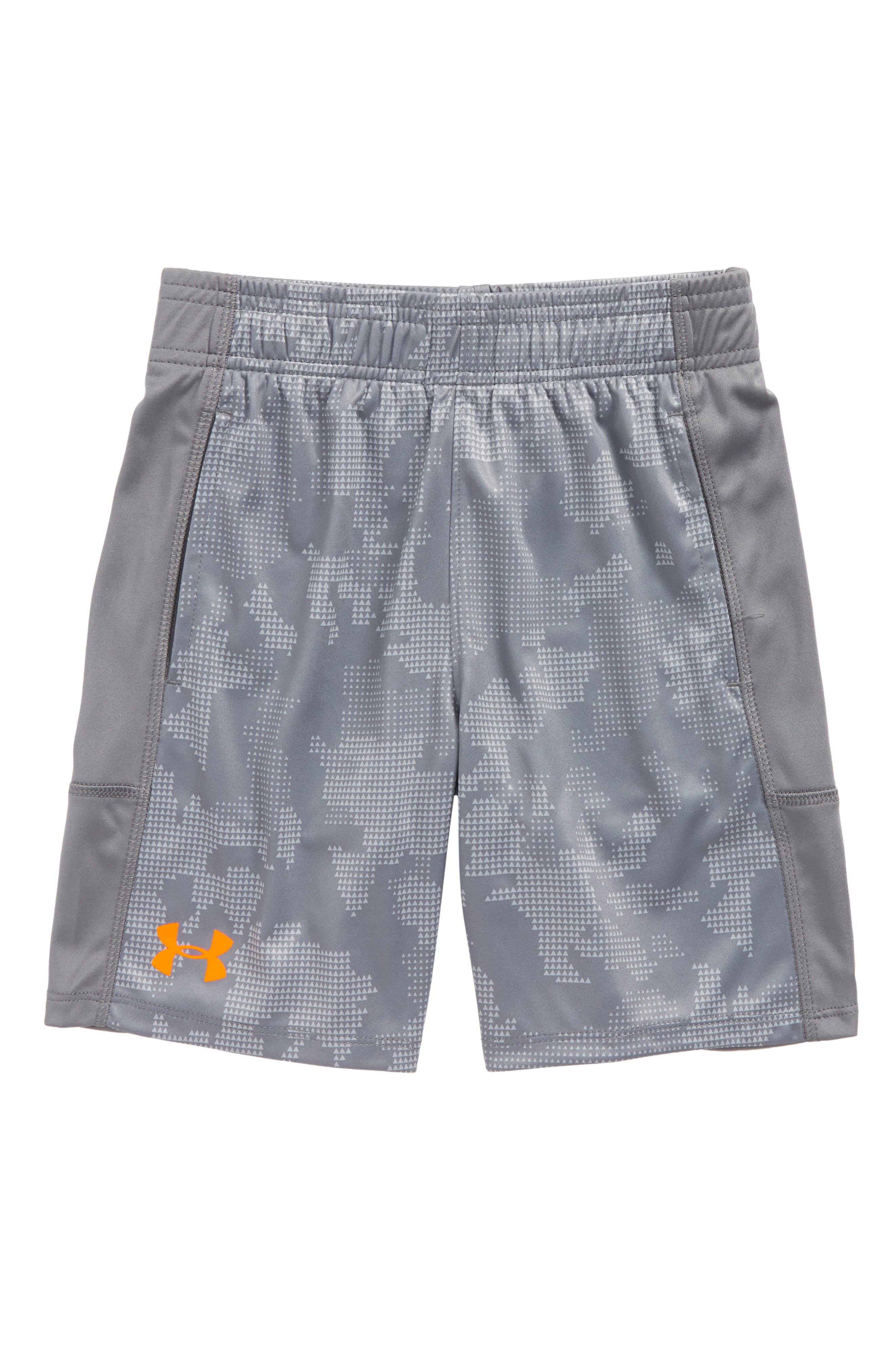 Alternate Image 1 Selected - Under Armour Stunt HeatGear® Shorts (Toddler Boys & LIttle Boys)