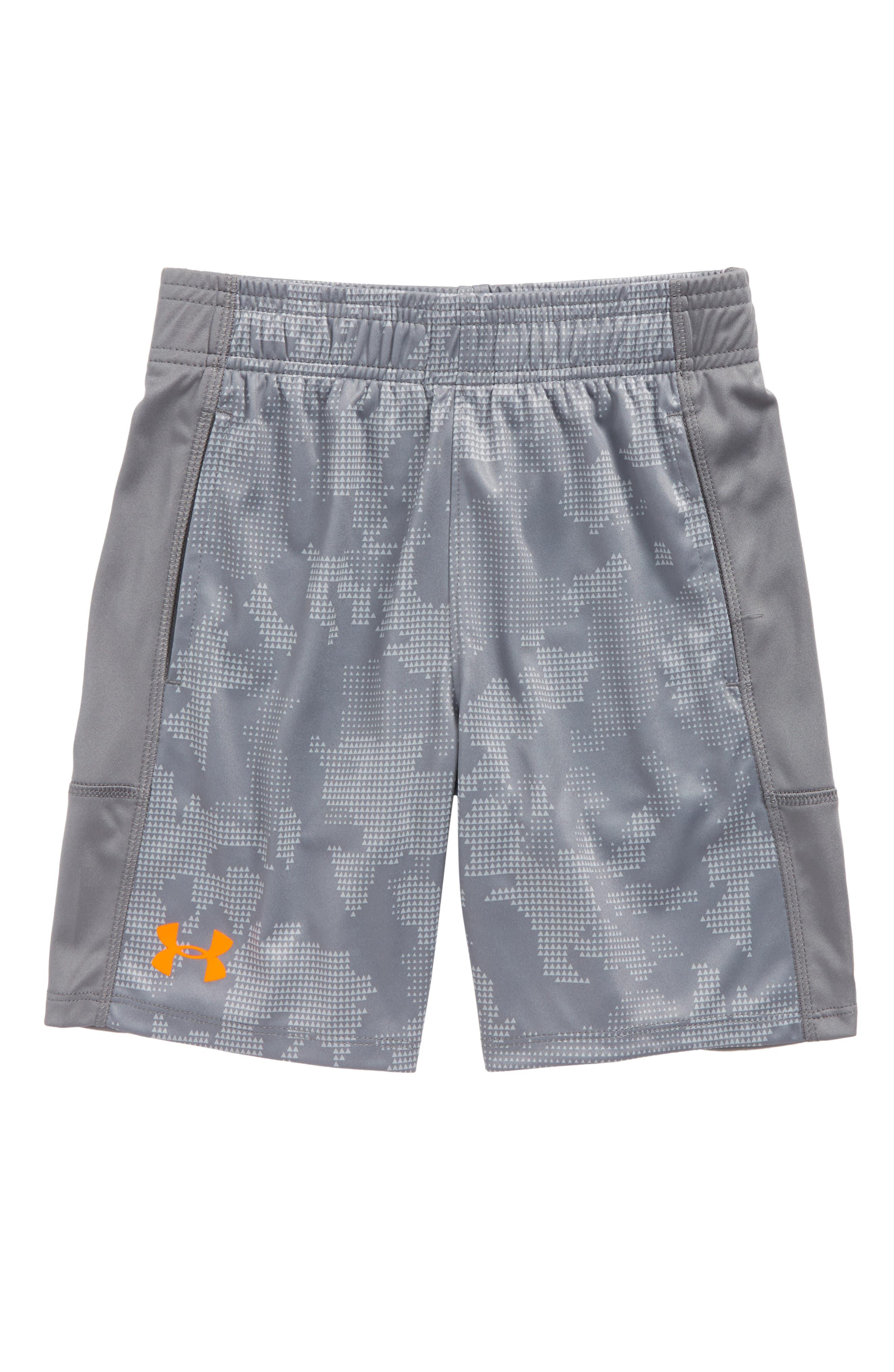 Main Image - Under Armour Stunt HeatGear® Shorts (Toddler Boys & LIttle Boys)