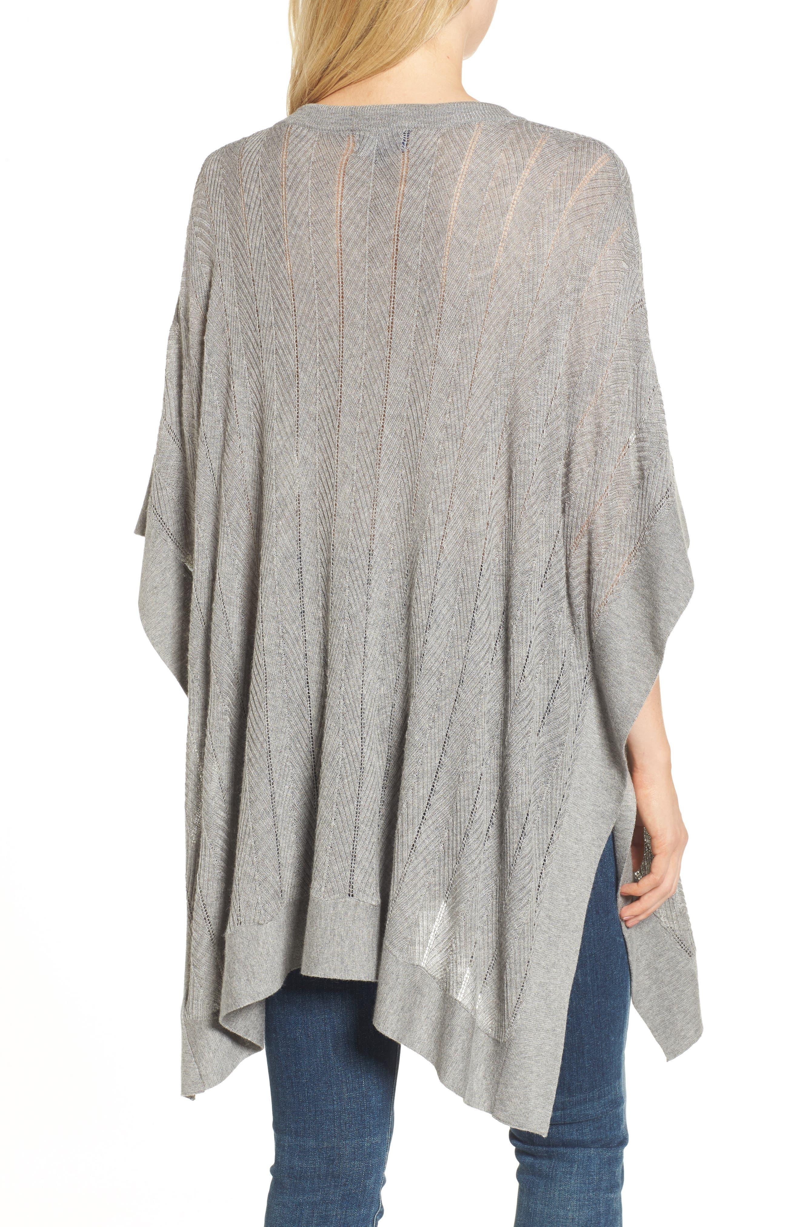 Alternate Image 2  - Splendid Pebble Poncho Sweater