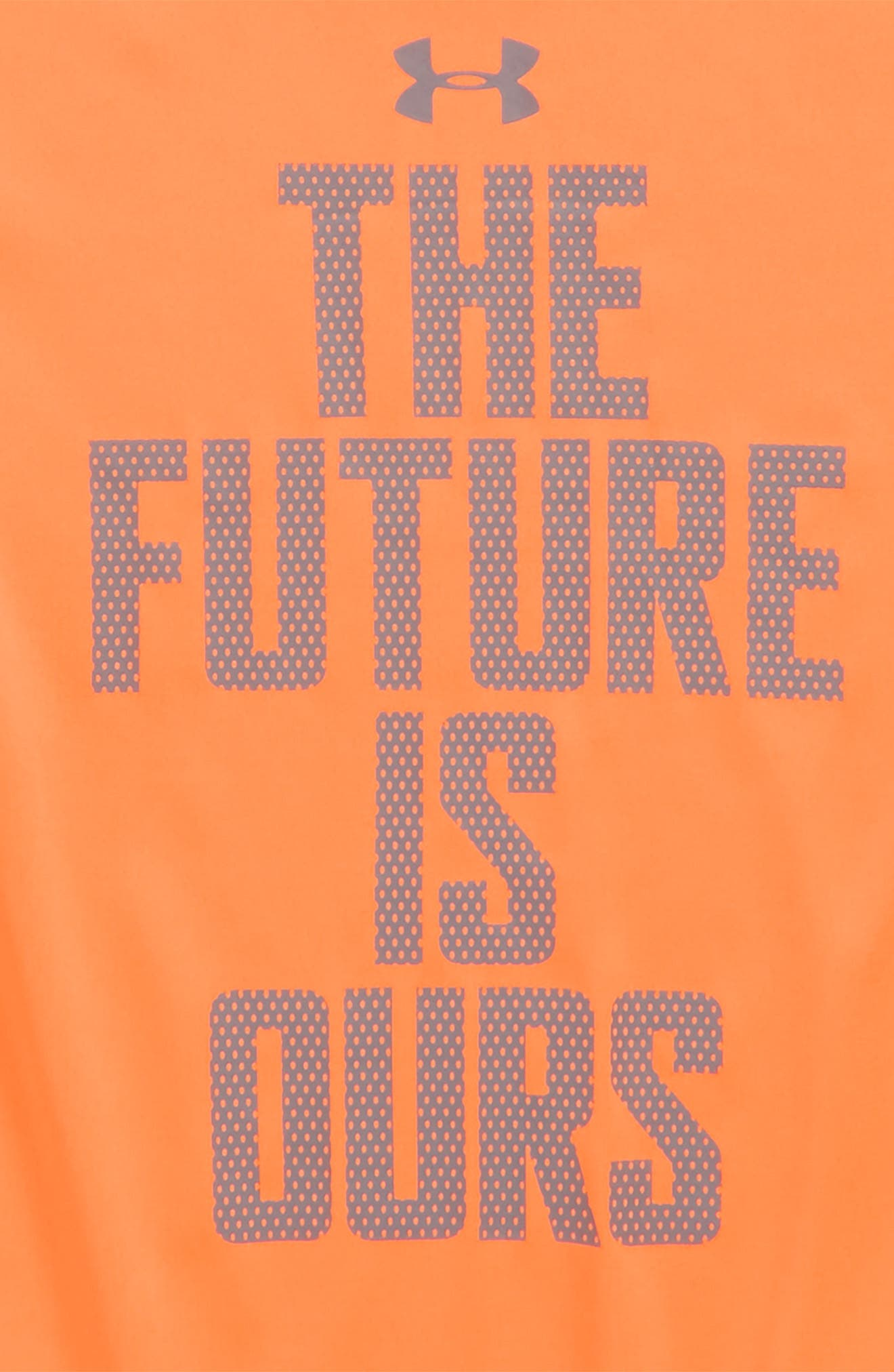 The Future Is Ours Graphic T-Shirt,                             Alternate thumbnail 2, color,                             Magma Orange