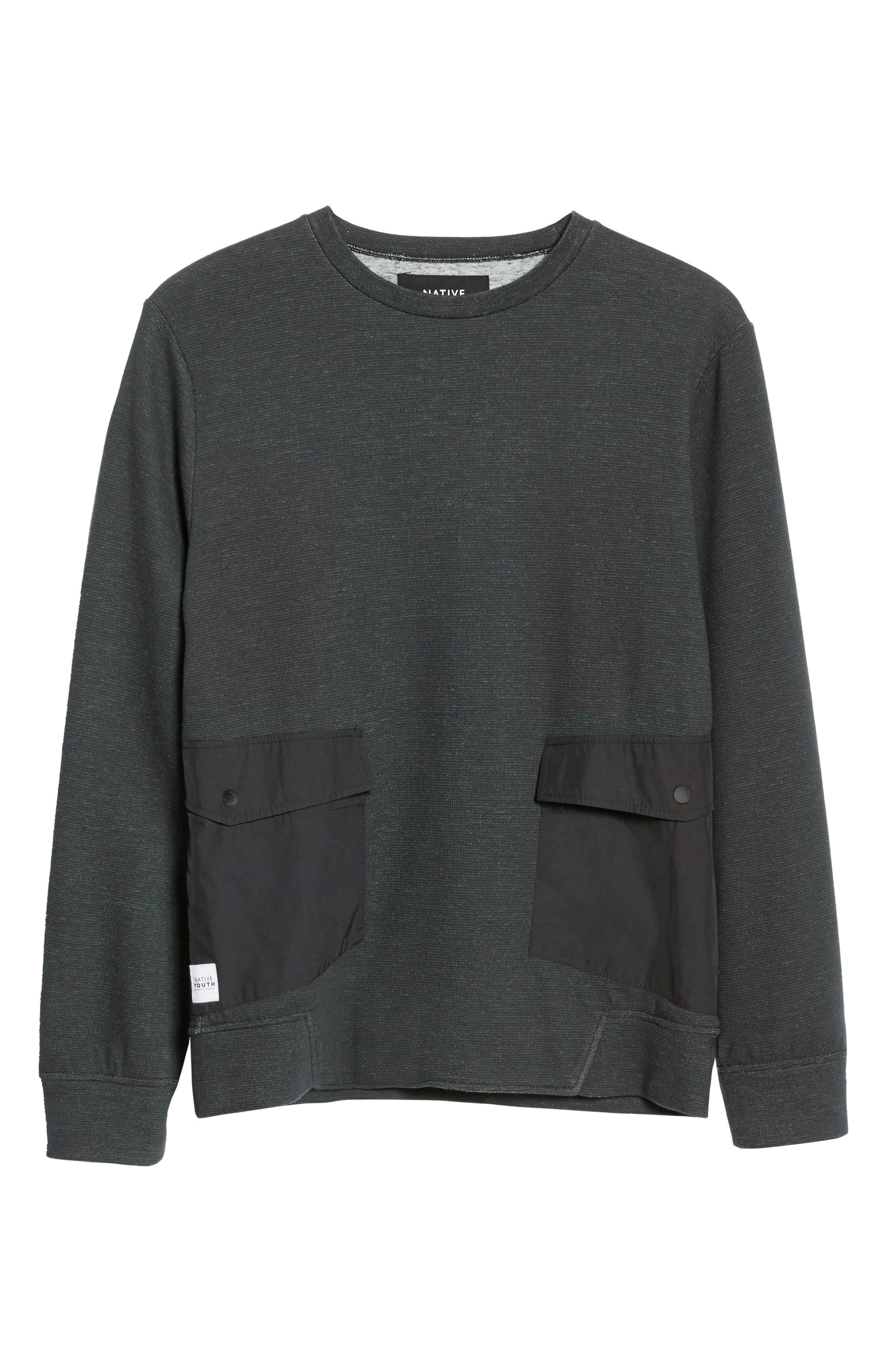 Oracle Sweatshirt,                             Alternate thumbnail 6, color,                             Green