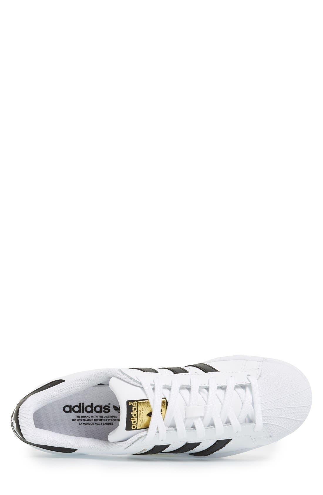 Alternate Image 3  - adidas Superstar Foundation Sneaker
