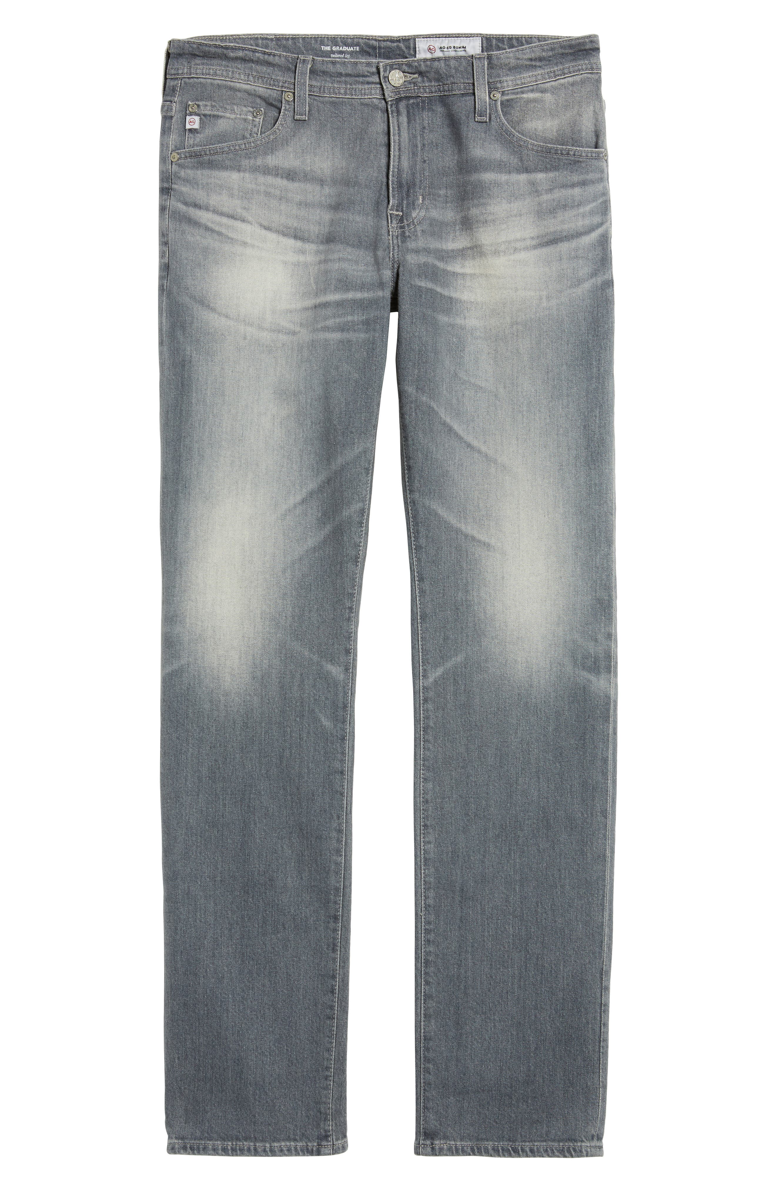 Alternate Image 6  - AG Graduate Slim Straight Fit Jeans (13 Years Fortress)