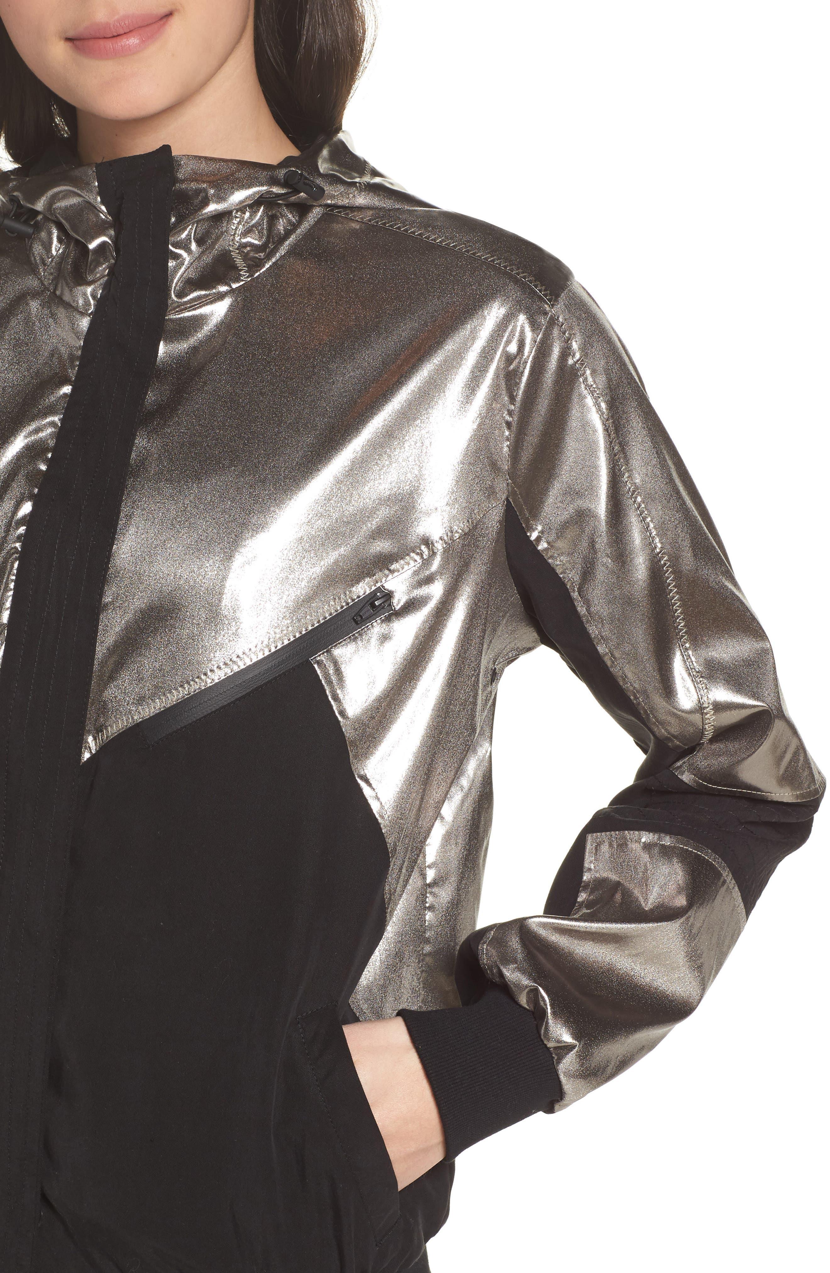 Daze Jacket,                             Alternate thumbnail 4, color,                             Platinum