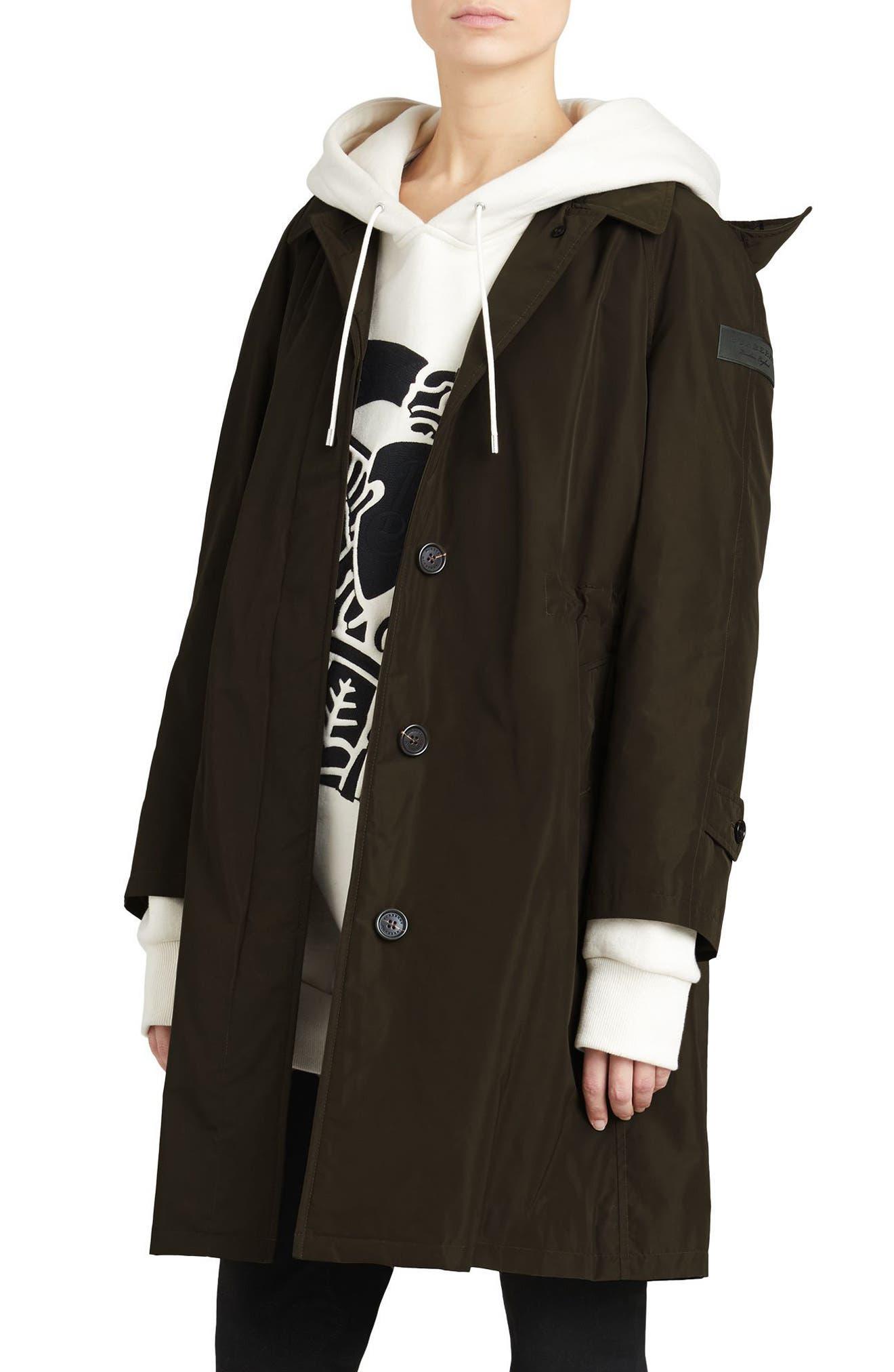Alternate Image 3  - Burberry Tringford Waterproof Hooded Coat