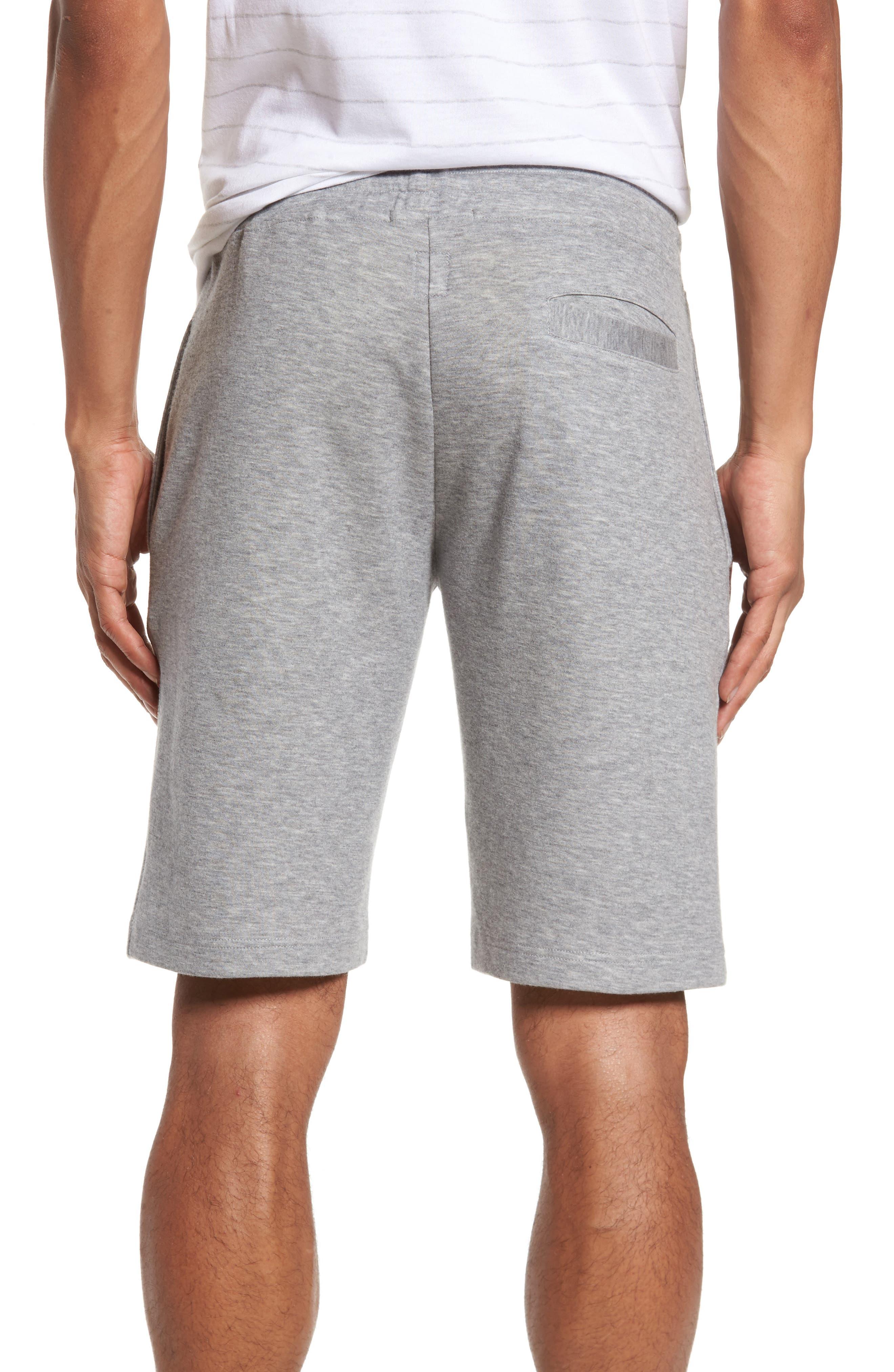 Drawstring Knit Shorts,                             Alternate thumbnail 2, color,                             Light Grey
