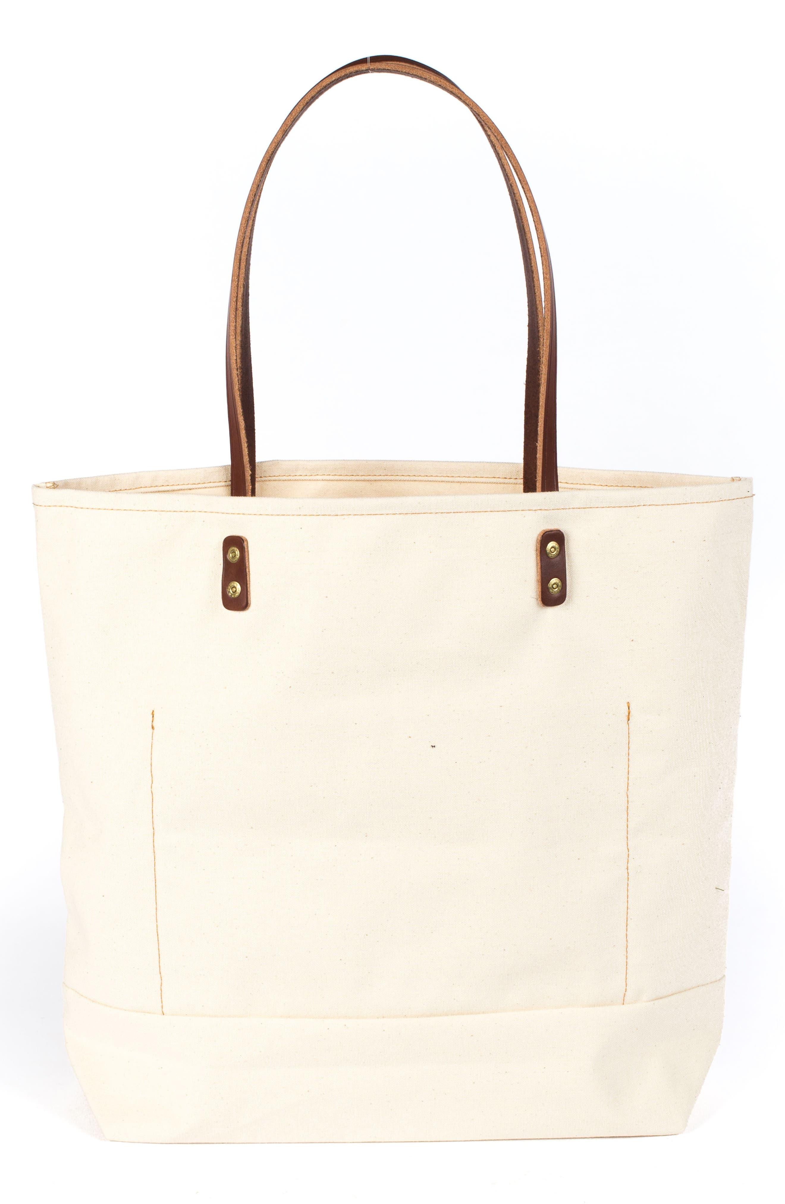 Alternate Image 2  - Wood&Faulk Grocery Getter Tote Bag