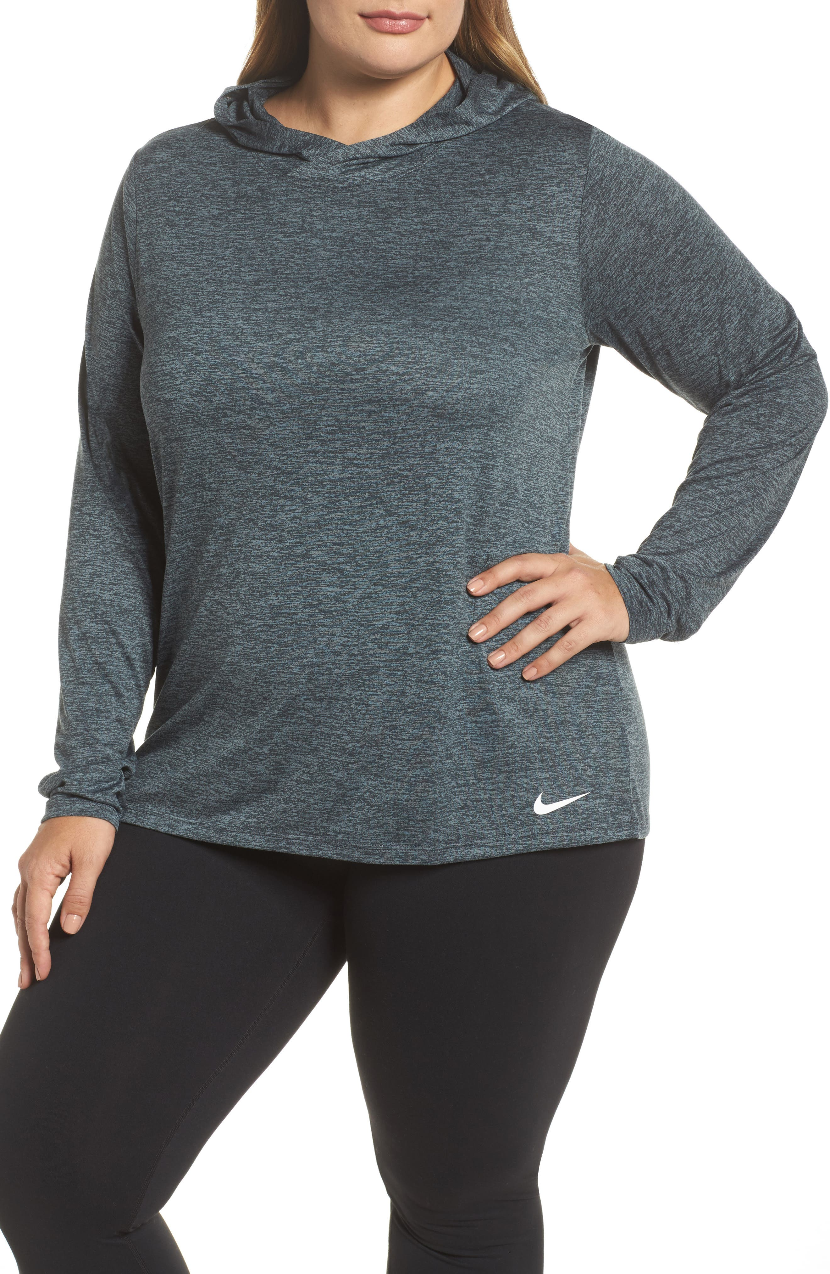 Dry Training Hoodie,                         Main,                         color, Black/ Cool Grey/ White