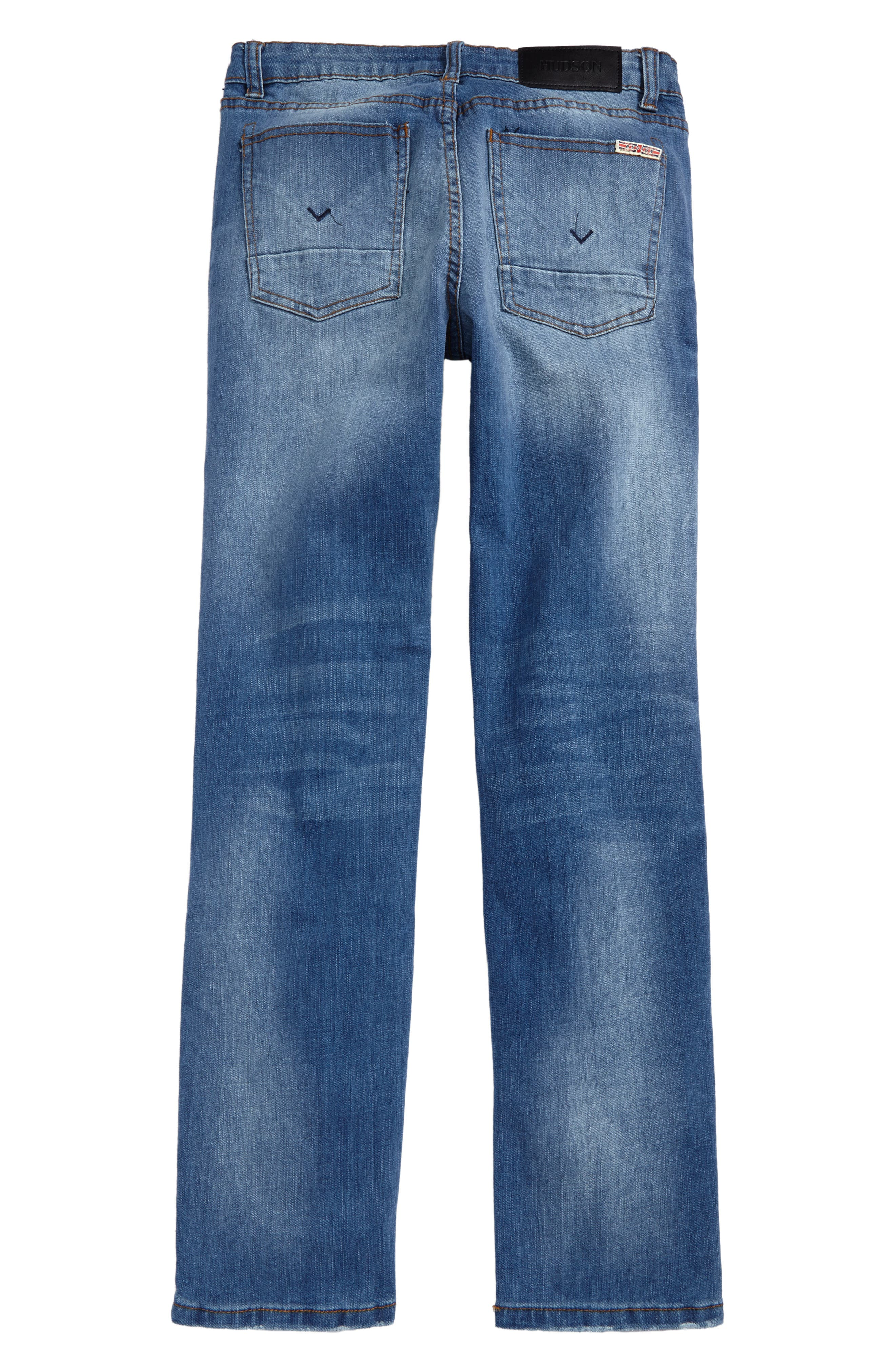 Alternate Image 2  - Hudson Kids Jagger Slim Fit Straight Leg Jeans (Big Boys)