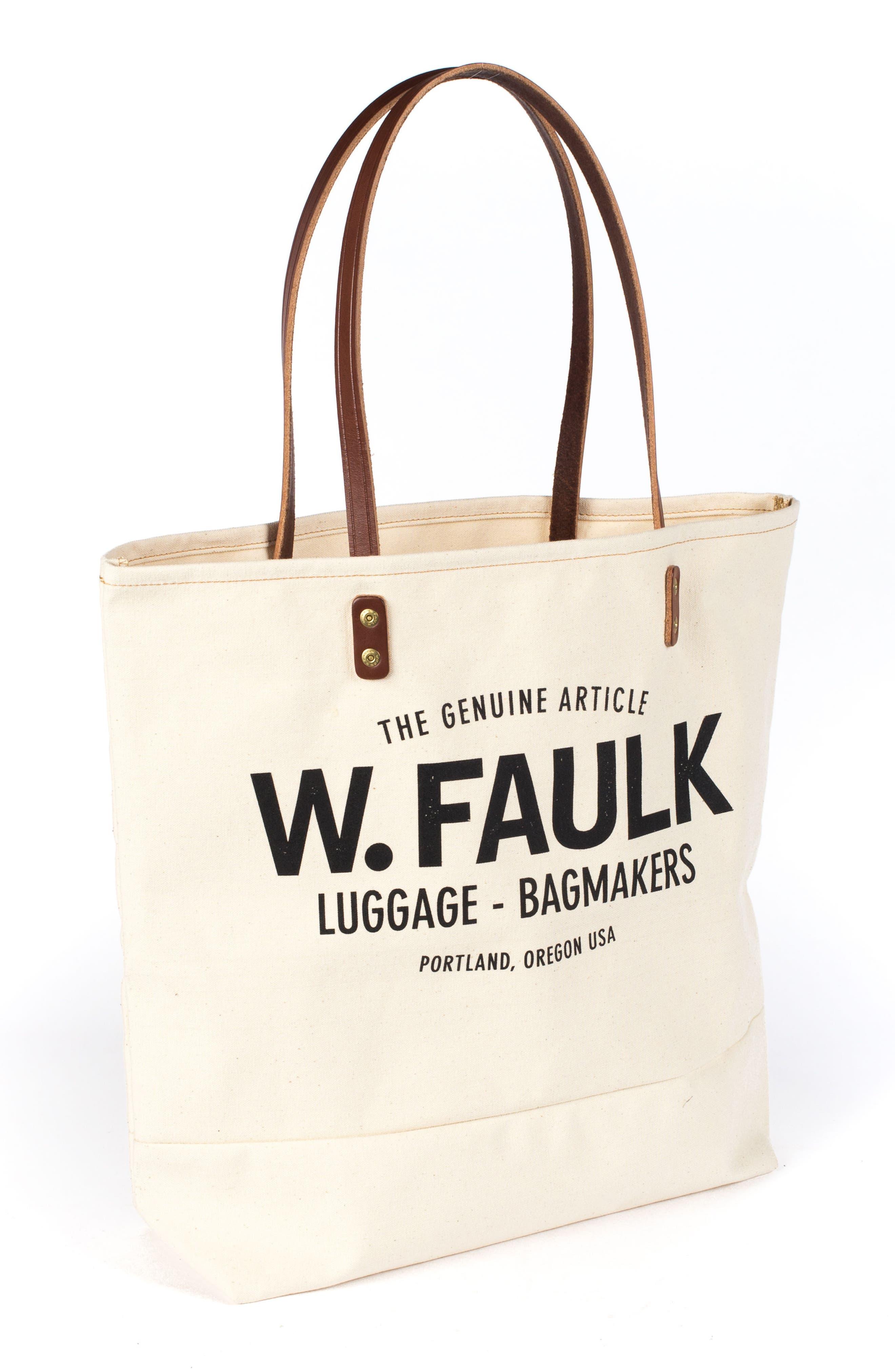 Alternate Image 3  - Wood&Faulk Grocery Getter Tote Bag