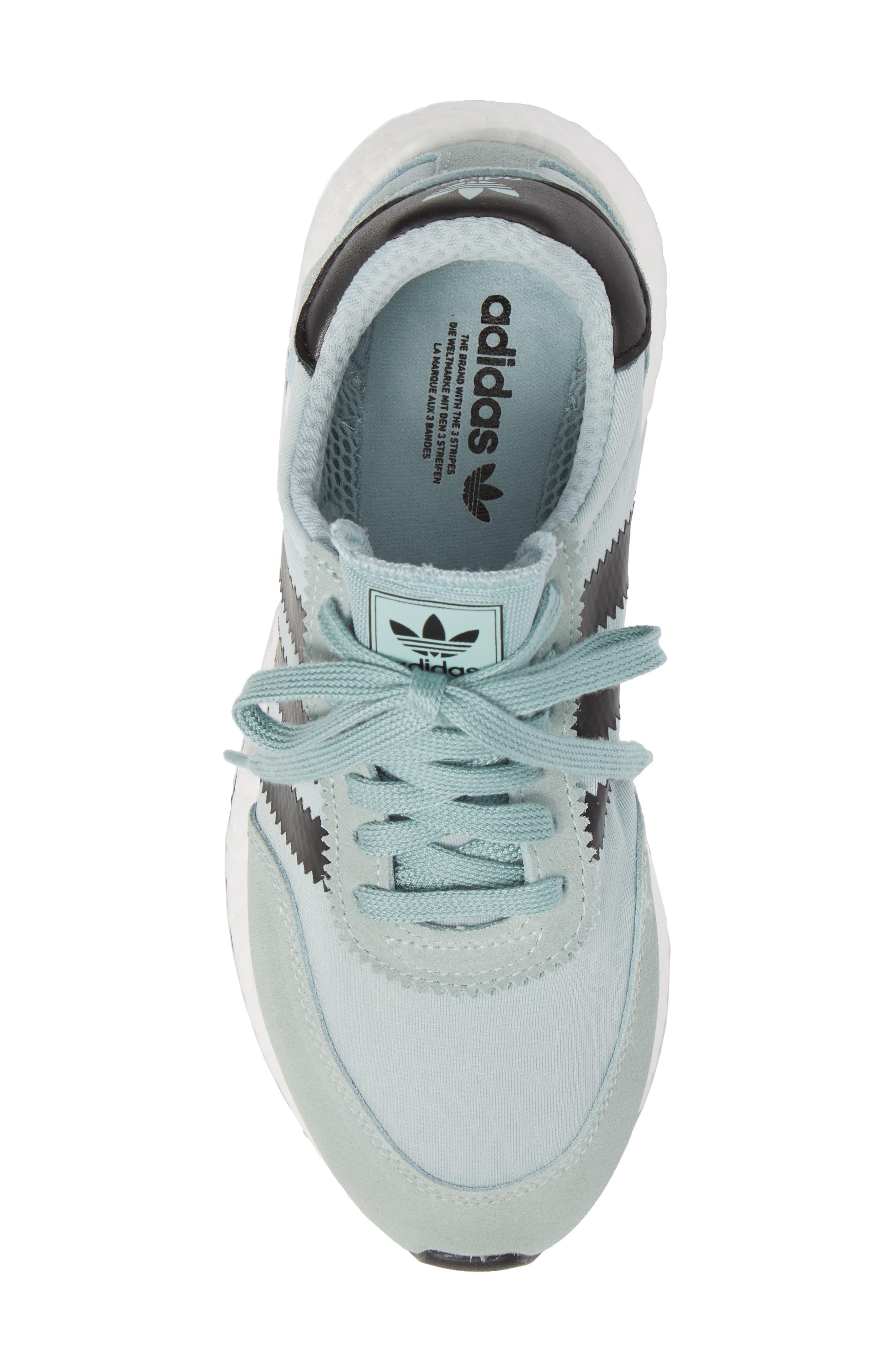 I-5923 Sneaker,                             Alternate thumbnail 4, color,                             Tactile Green/ Black/ White