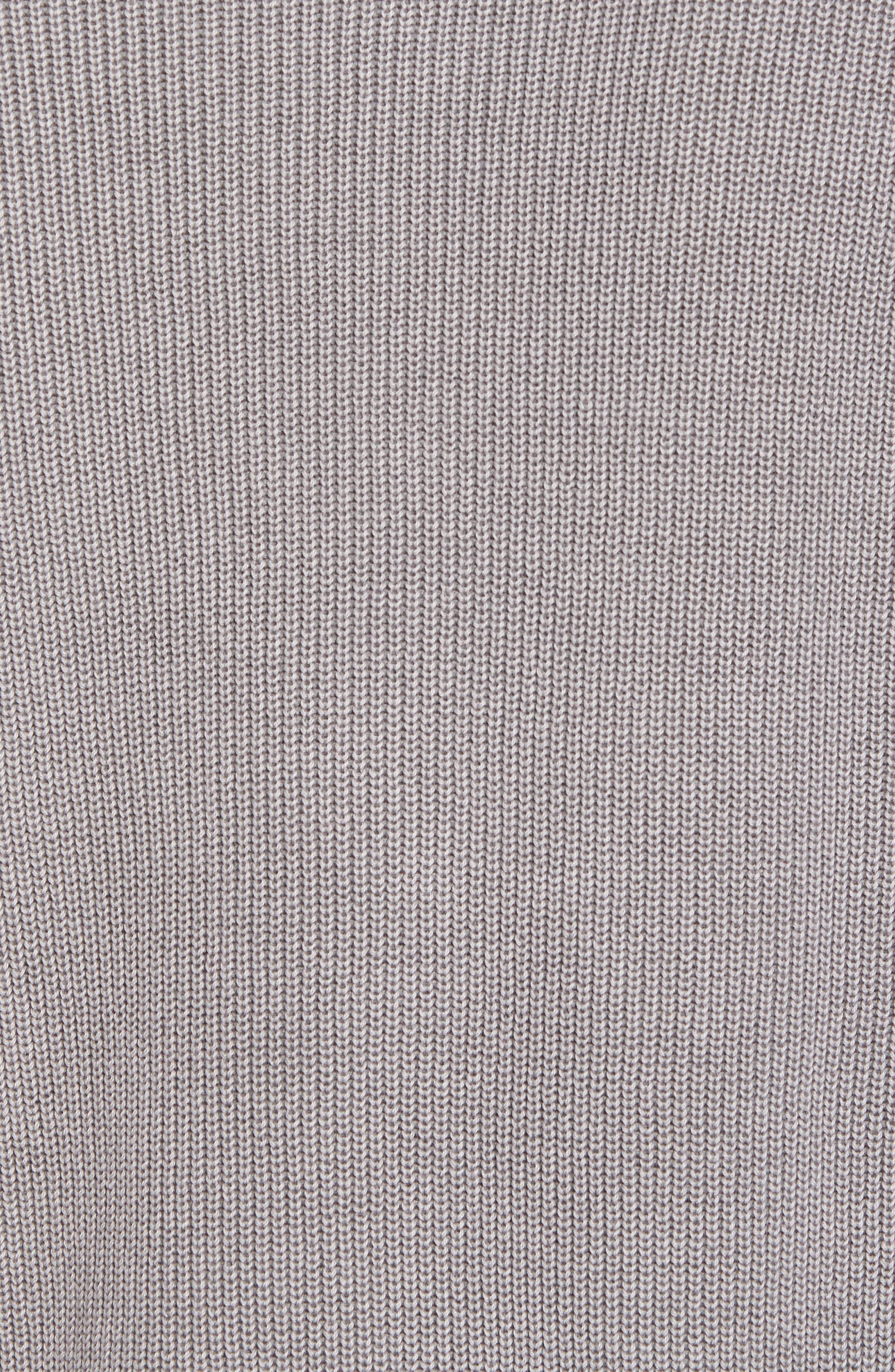 Crewneck Sweater,                             Alternate thumbnail 6, color,                             Grey Weather