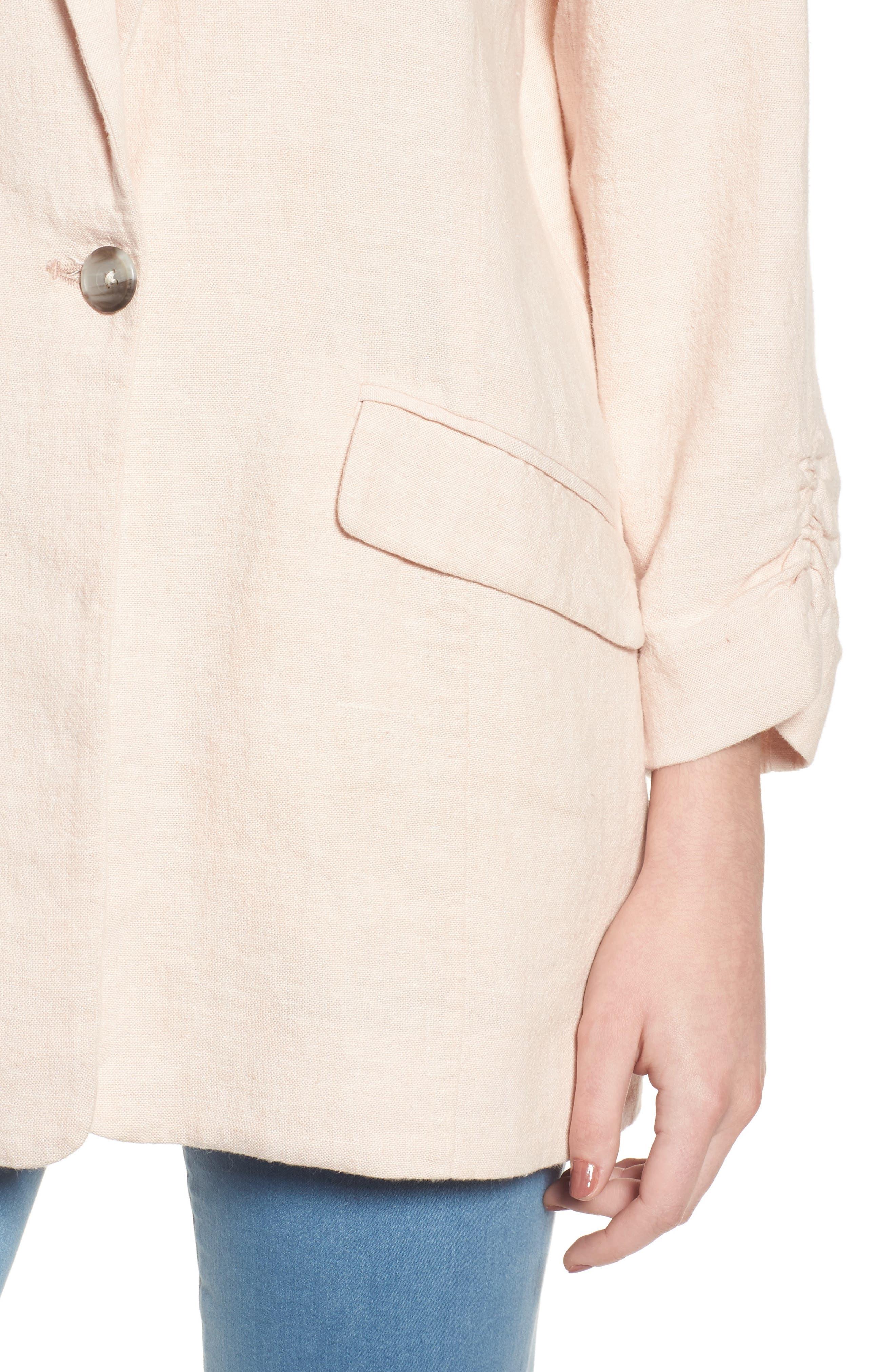 Alternate Image 4  - BP. Cinch Sleeve Blazer