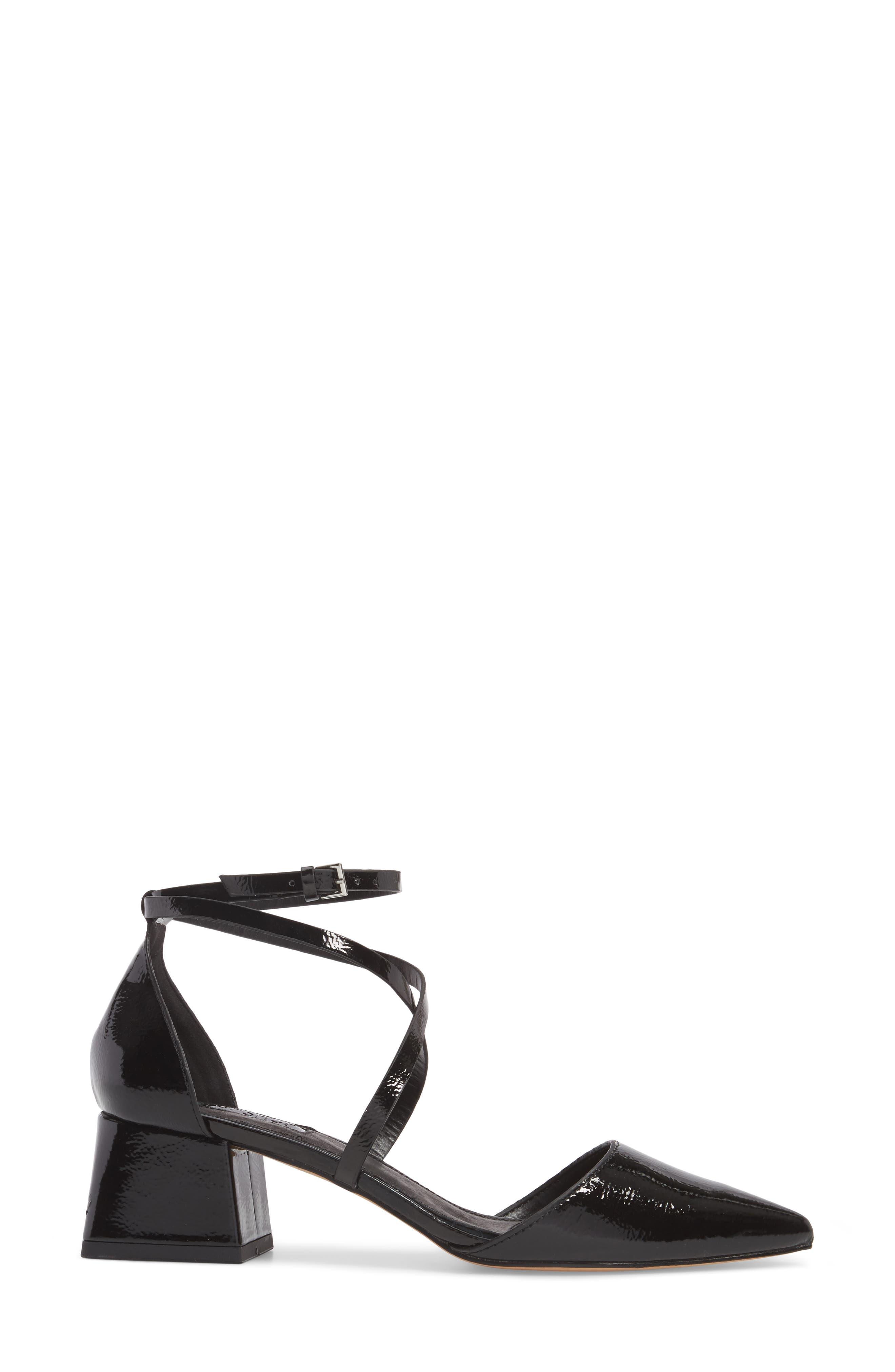 Alternate Image 3  - Topshop Jolly Flared Heel d'Orsay Pump (Women)