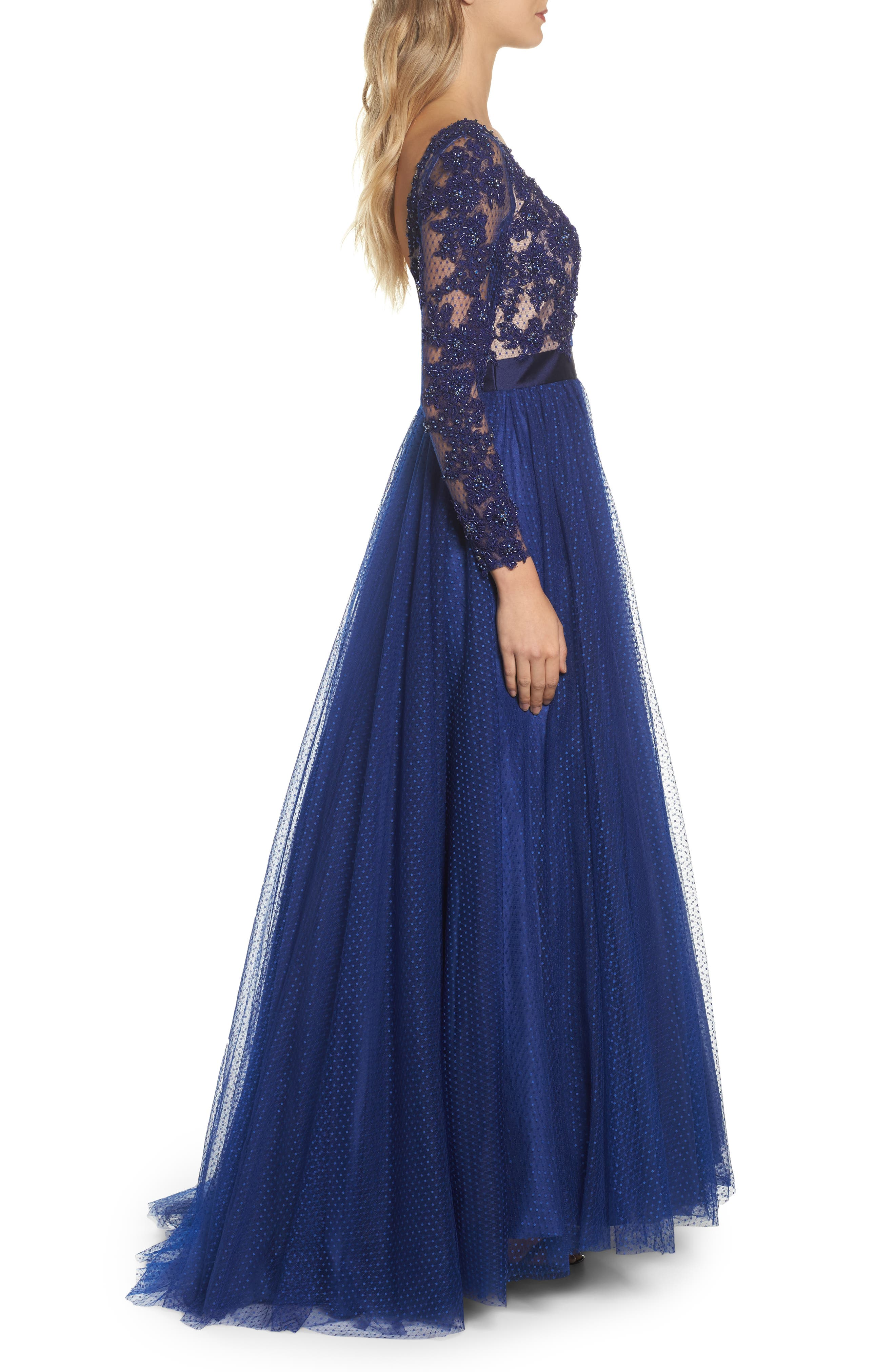 Alternate Image 3  - Mac Duggal Beaded Bodice Gown