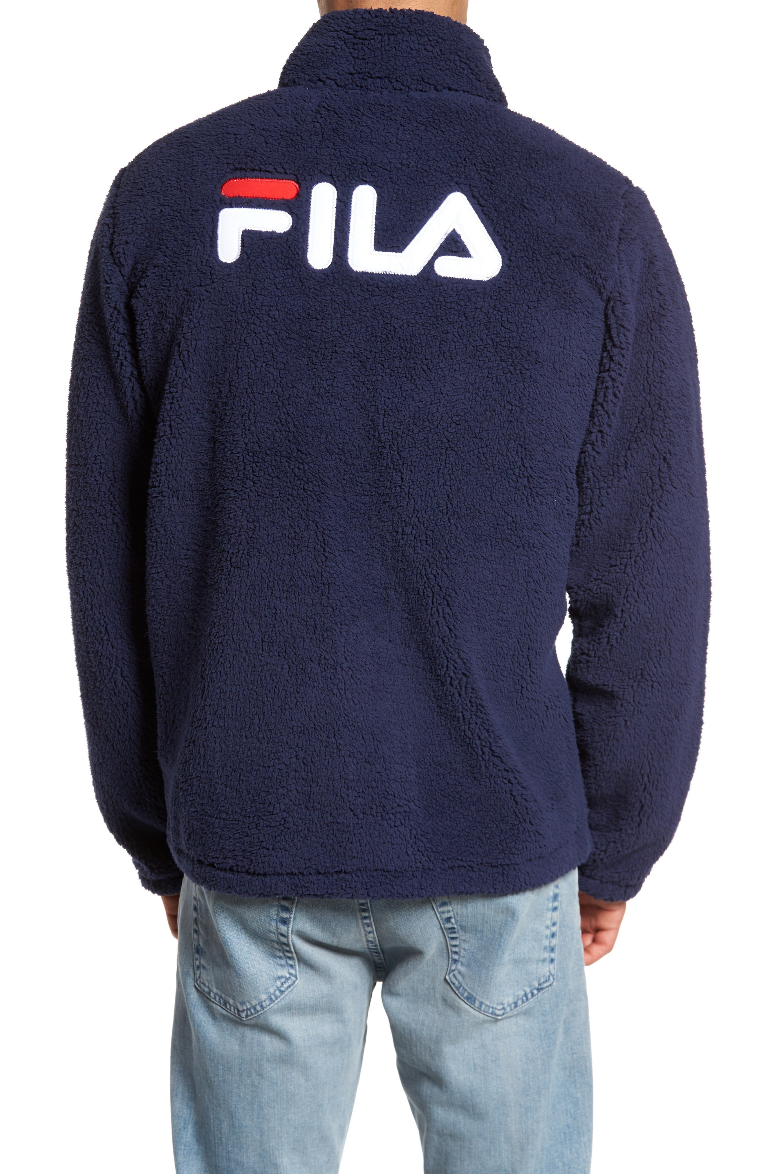 Alternate Image 2  - FILA Finlay Fleece Jacket