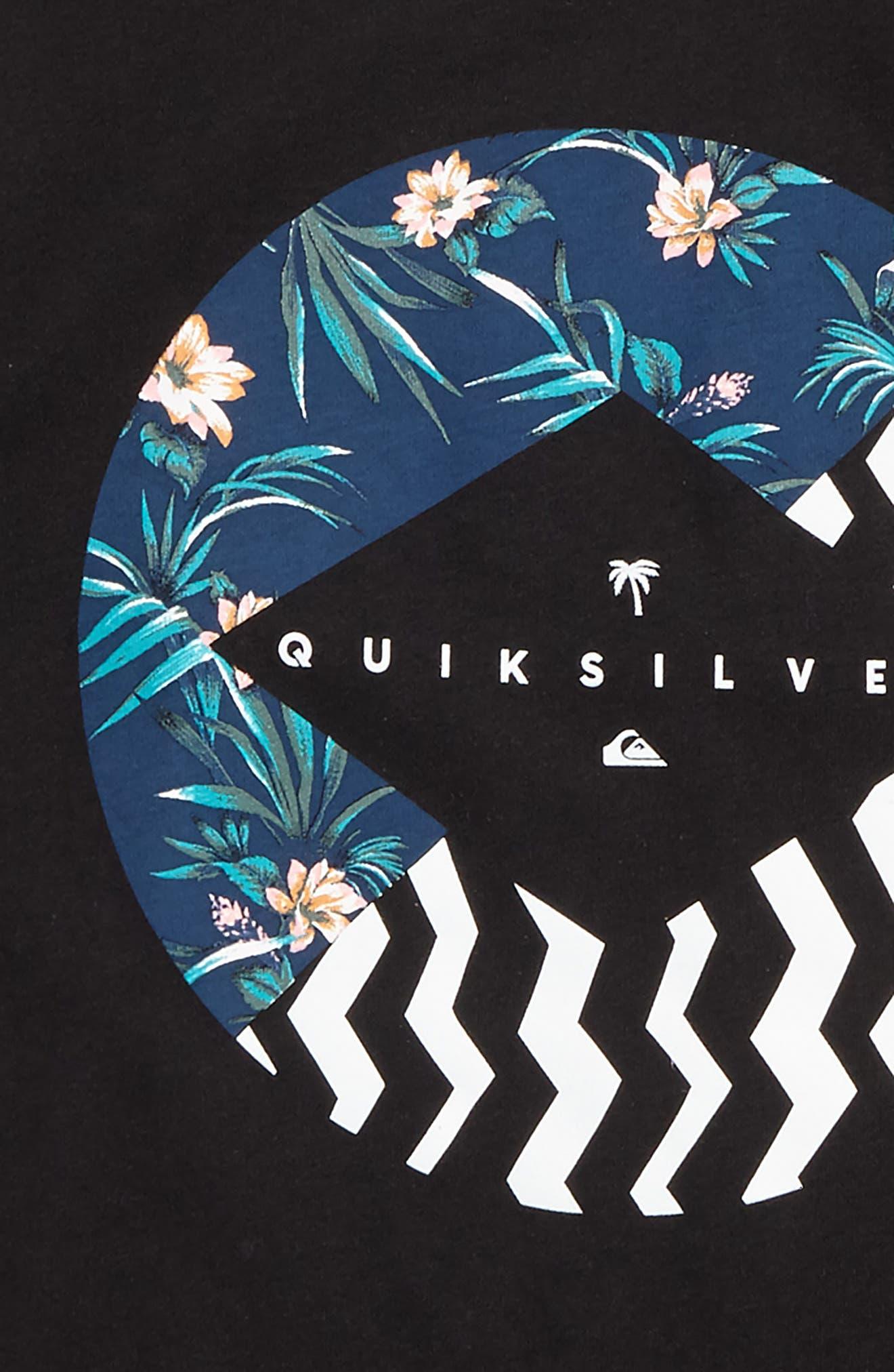 Alternate Image 2  - Quiksilver Vert Times Graphic T-Shirt (Big Boys)