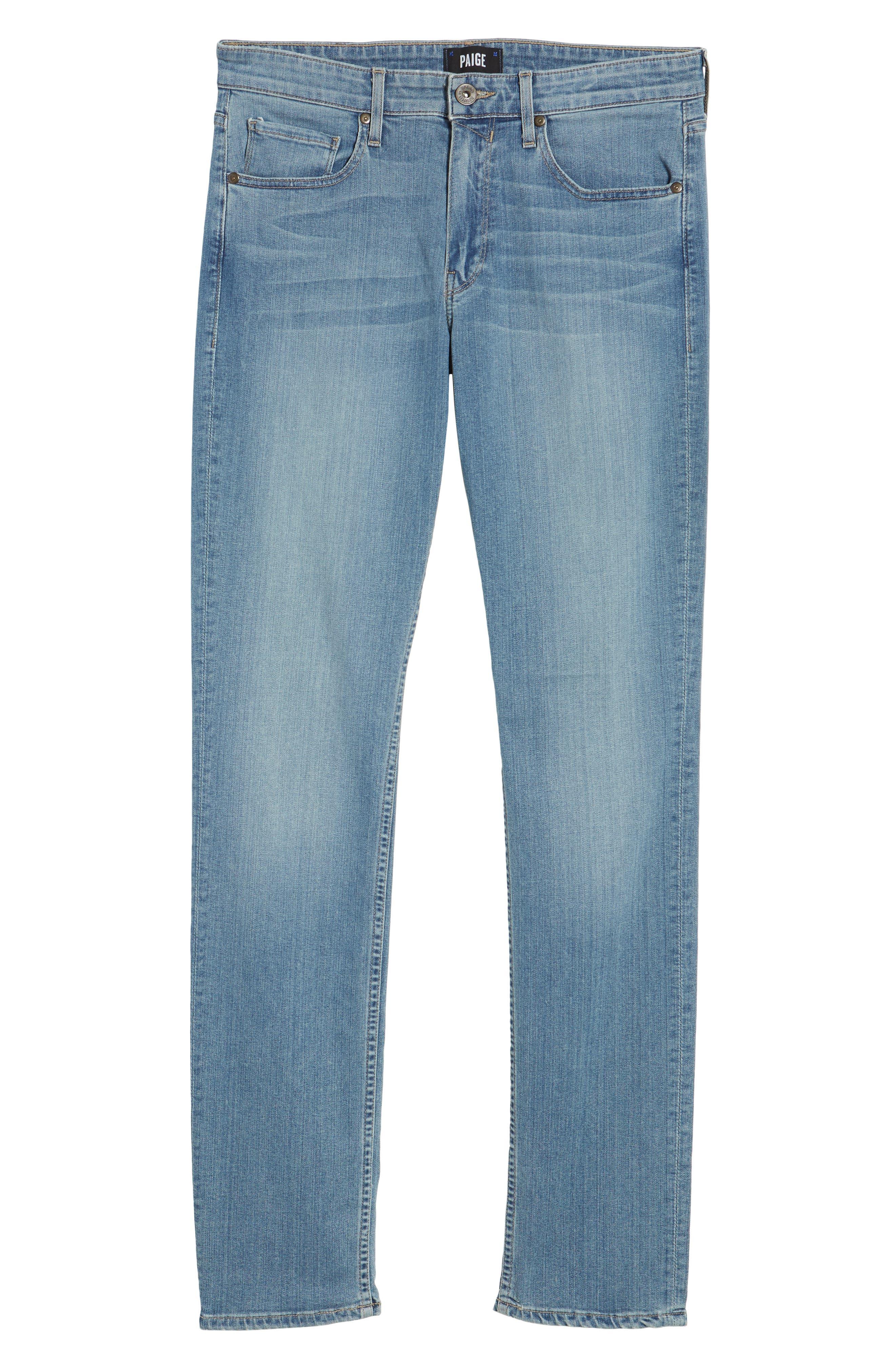 Transcend - Lennox Slim Fit Jeans,                             Alternate thumbnail 6, color,                             Liam