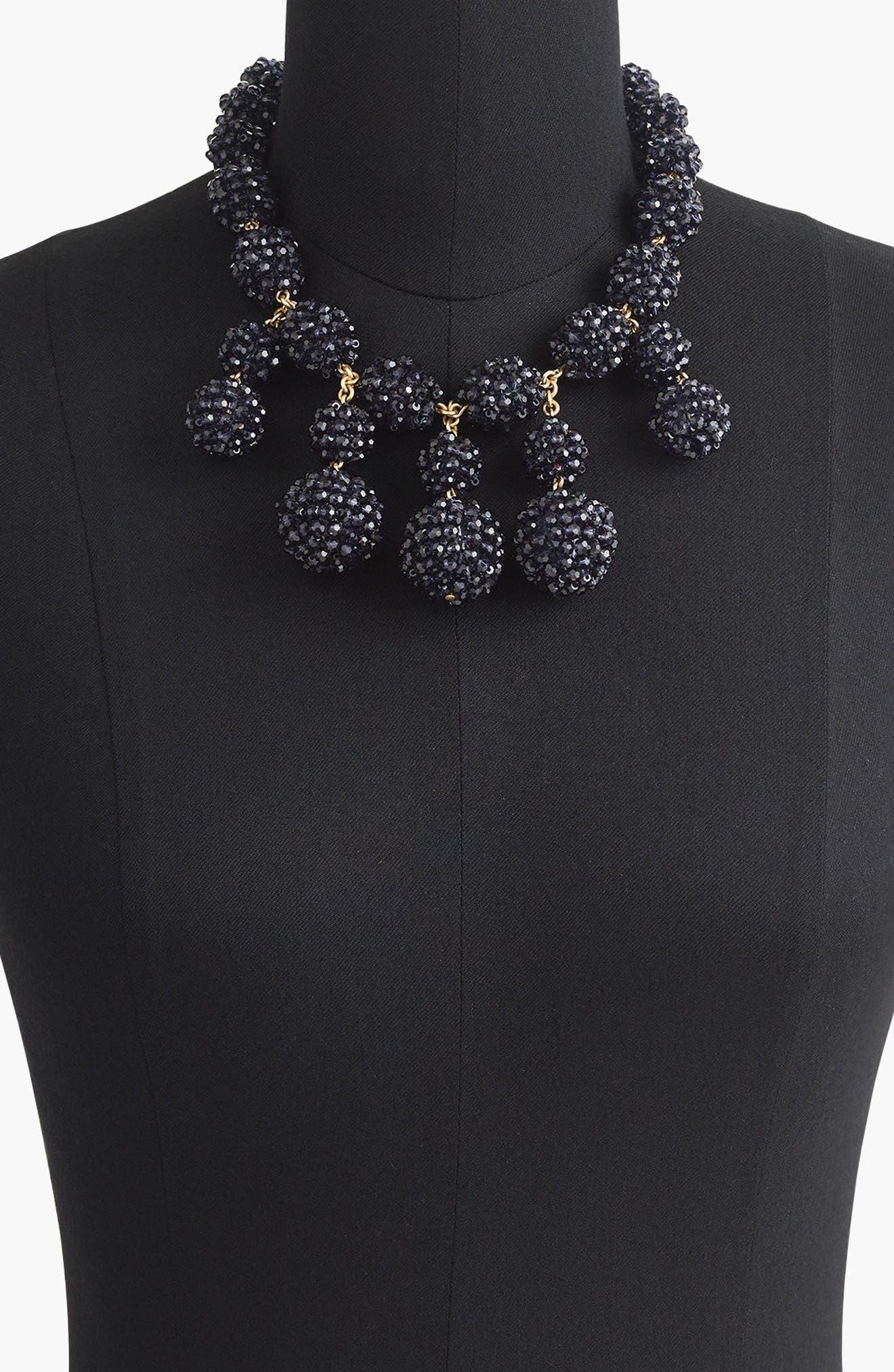 Blackberry Necklace,                             Alternate thumbnail 2, color,                             Vintage Indigo