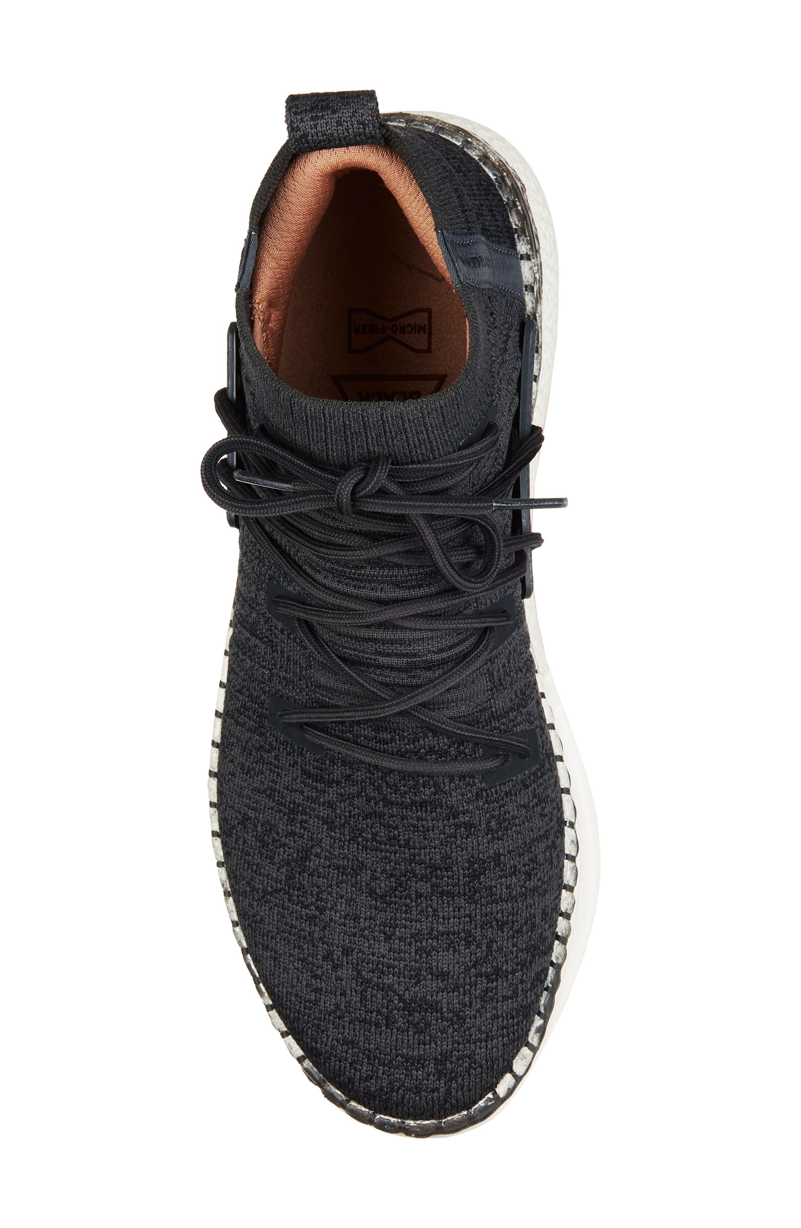 Delta Shibori Sneaker,                             Alternate thumbnail 5, color,                             Black