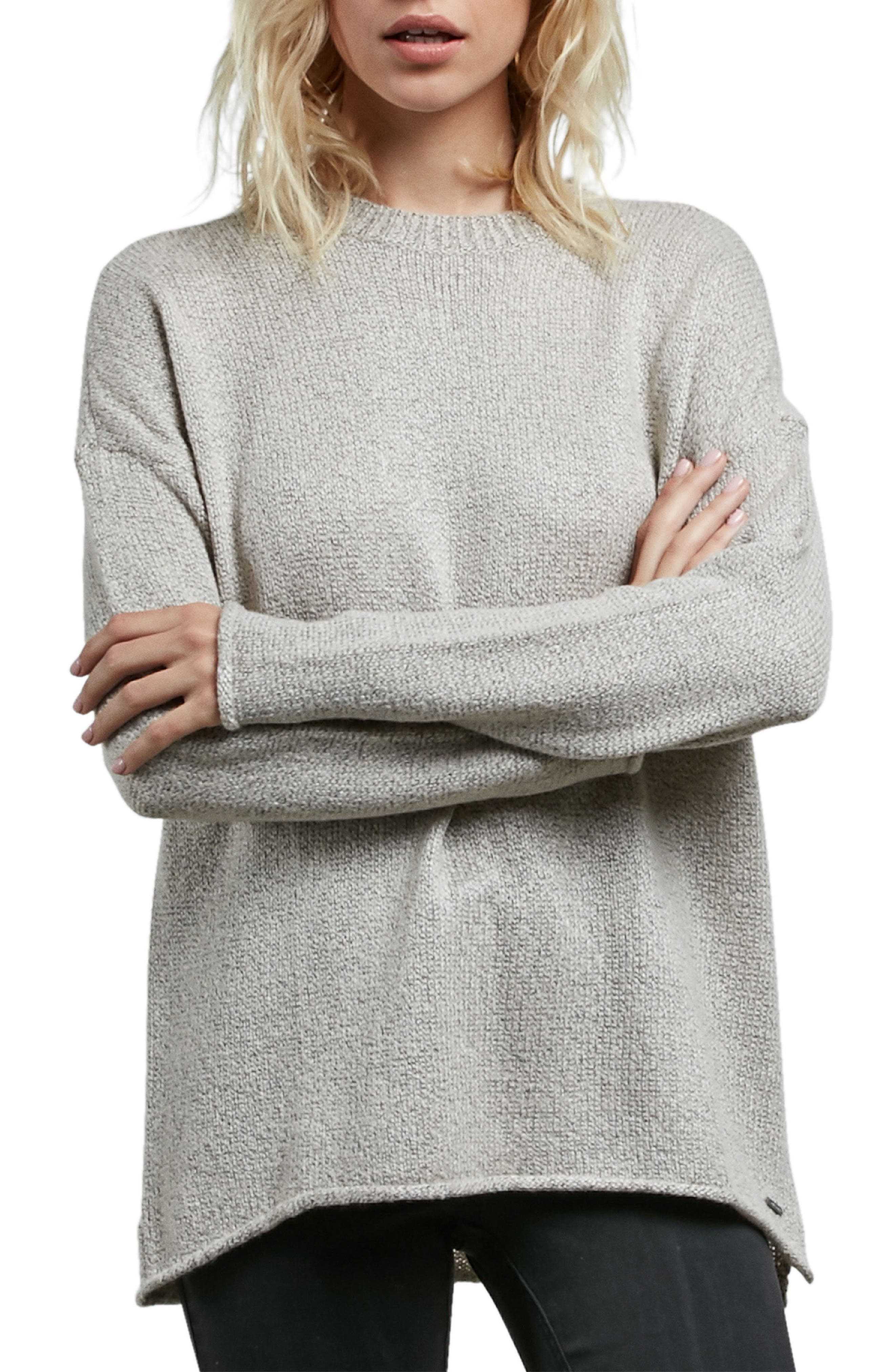 Alternate Image 1 Selected - Volcom Yarn Moji Sweater