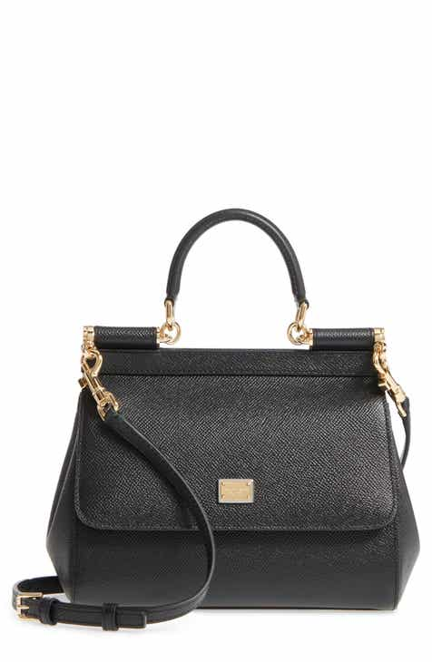 Dolce Gabbana Small Miss Sicily Leather Satchel 246a68aff8