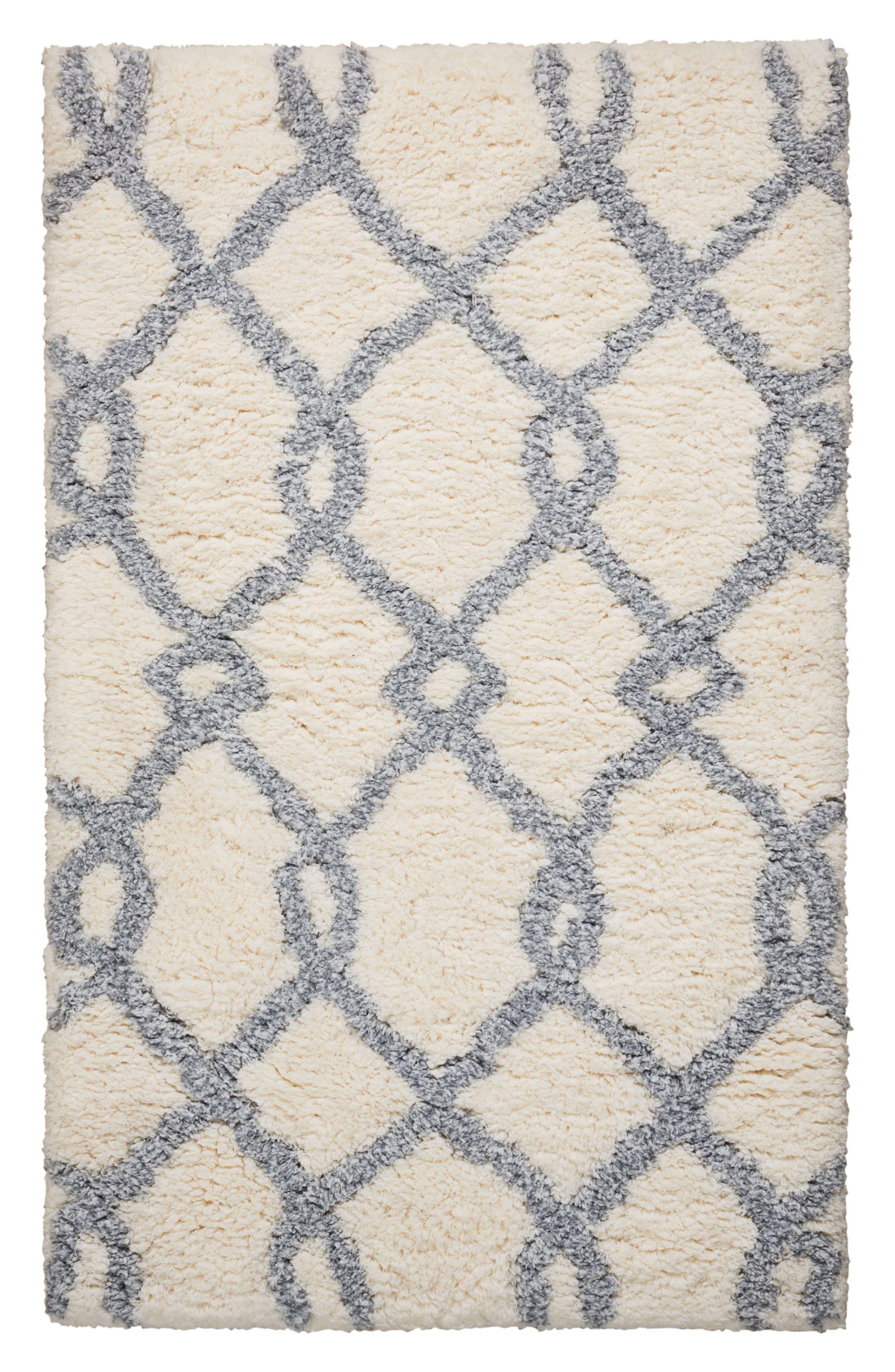 Stitch Rug,                         Main,                         color, Ivory Blue