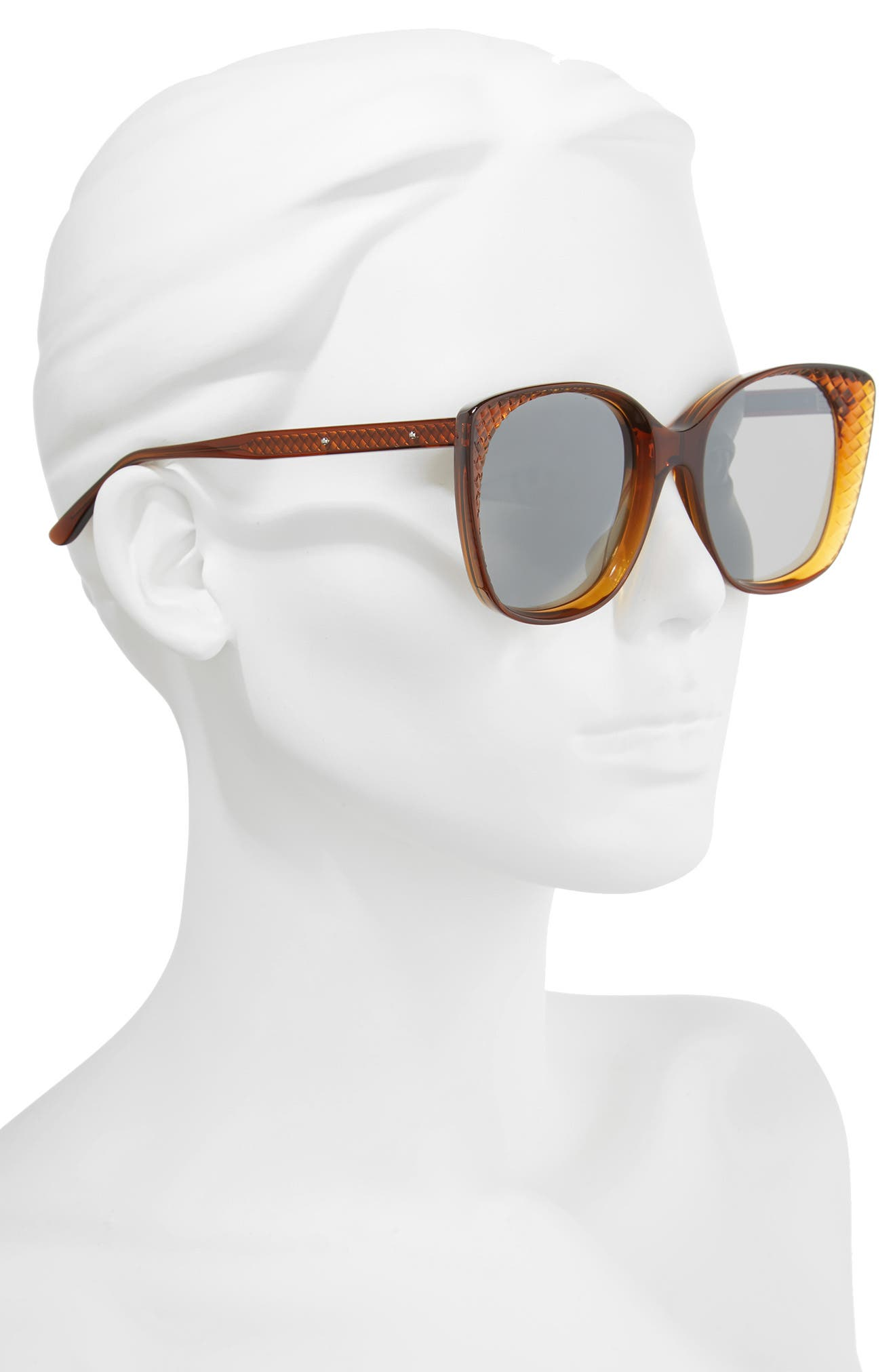 54mm Sunglasses,                             Alternate thumbnail 2, color,                             Chocolate Brown