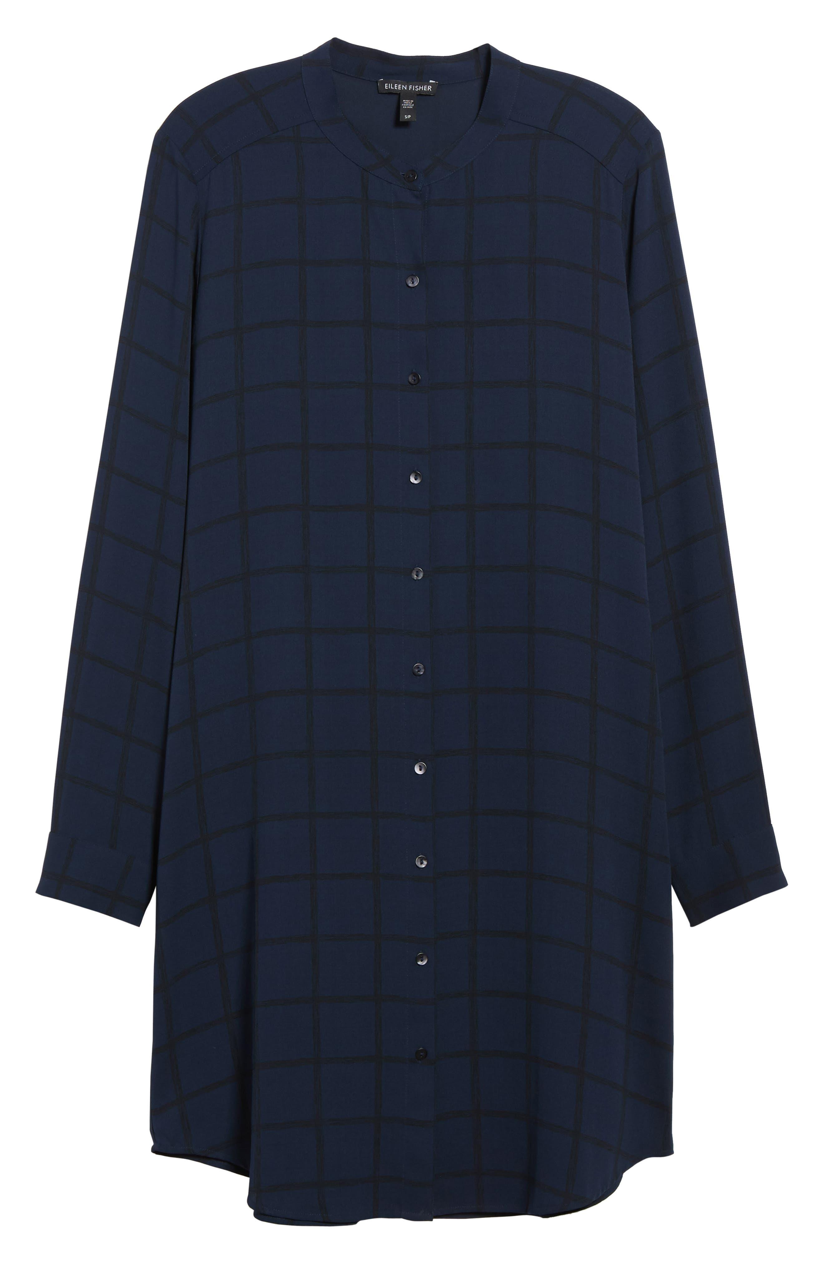 Alternate Image 6  - Eileen Fisher Silk Shirtdress