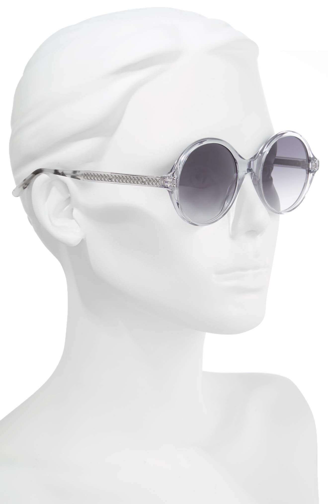 Alternate Image 2  - Bottega Veneta 52mm Round Sunglasses