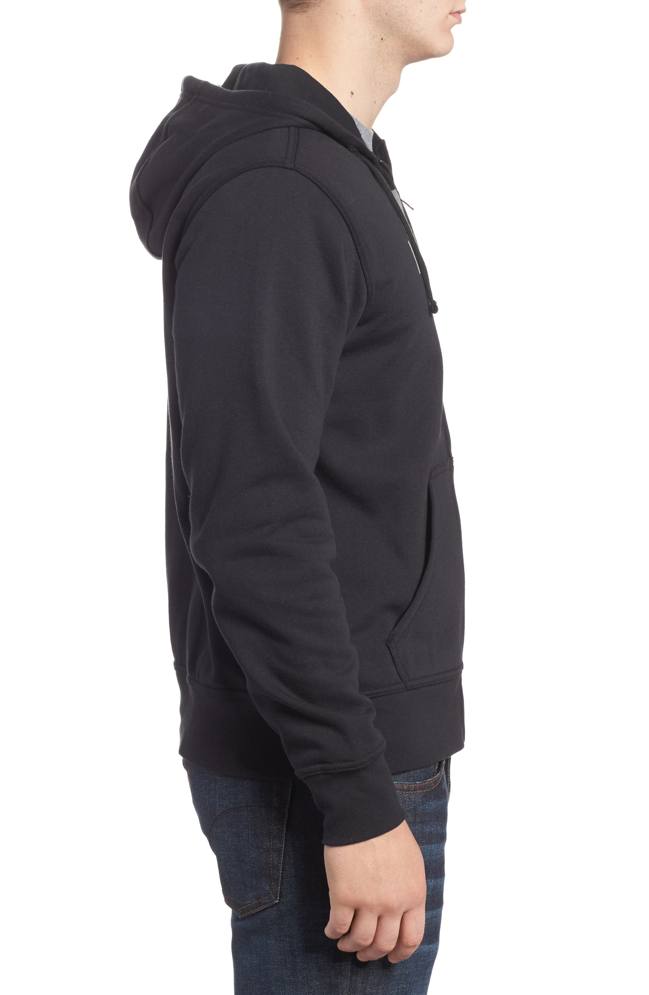 Alternate Image 3  - The North Face Half Dome Cotton Blend Zip Hoodie