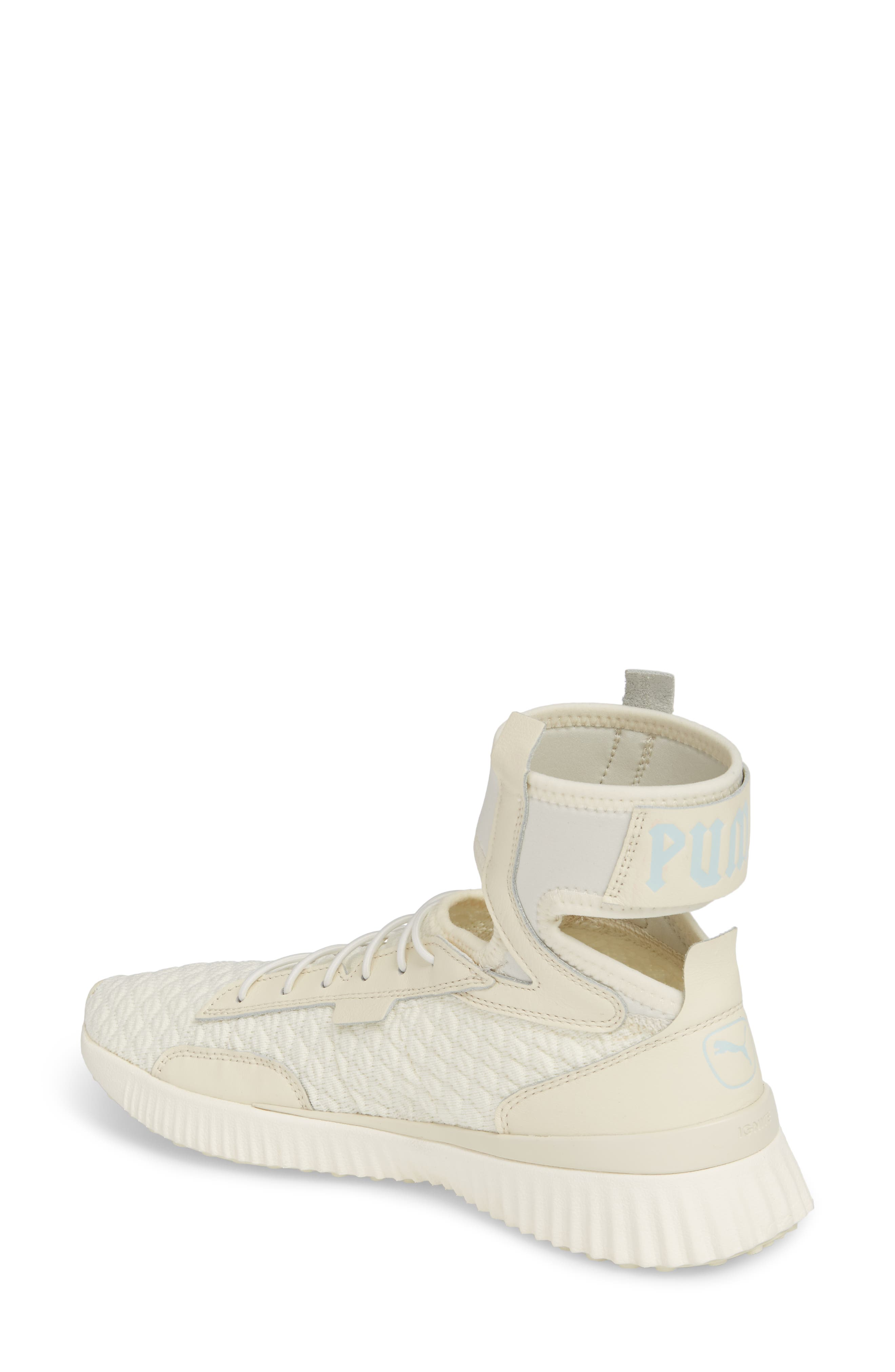 FENTY PUMA by Rihanna High Top Sneaker,                             Alternate thumbnail 2, color,                             Vanilla Ice/ Sterling Blue