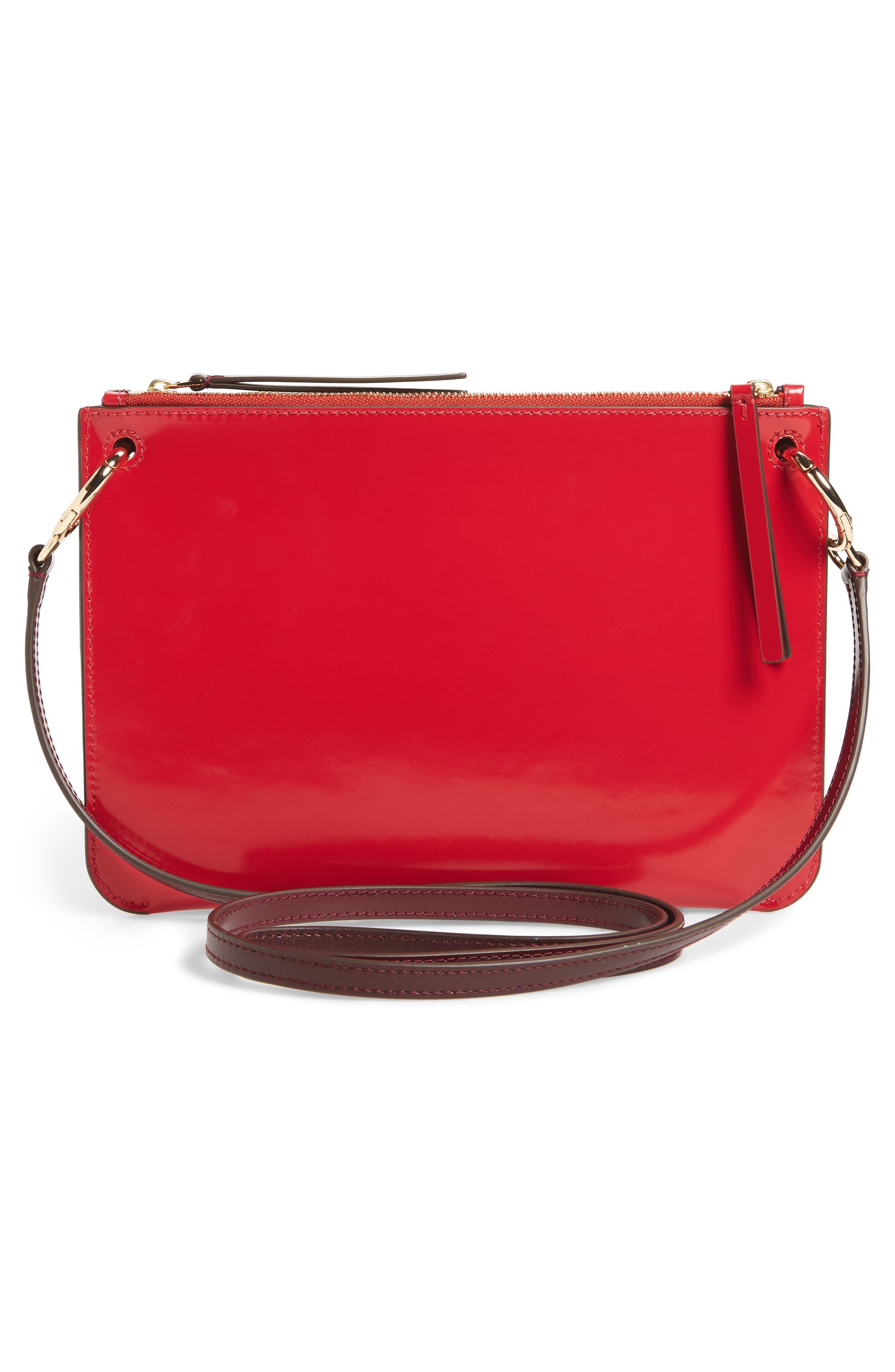 Alternate Image 3  - Tory Burch Leather Accordion Crossbody Bag