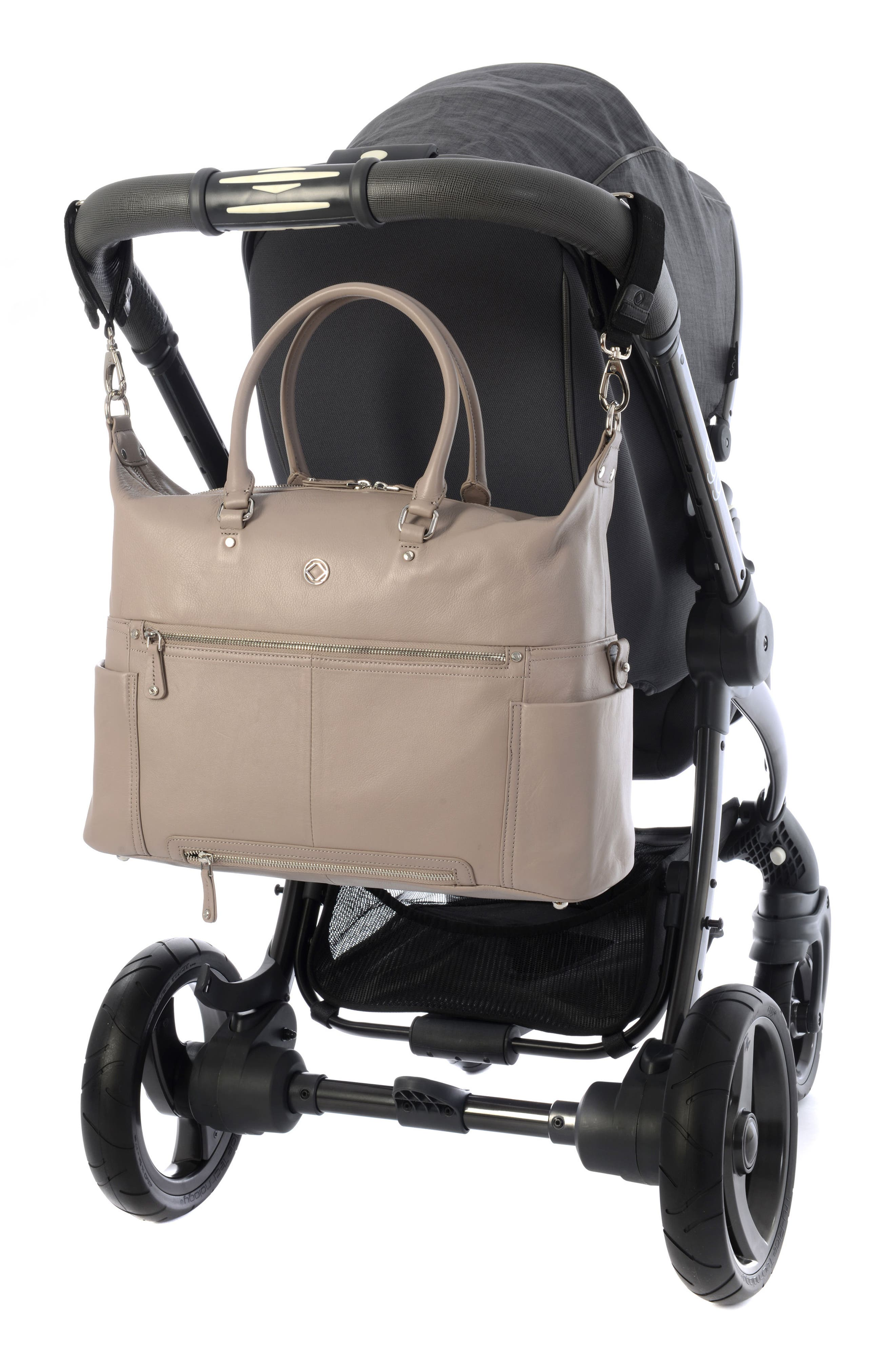 Alternate Image 6  - Kerikit Thea Leather Diaper Bag