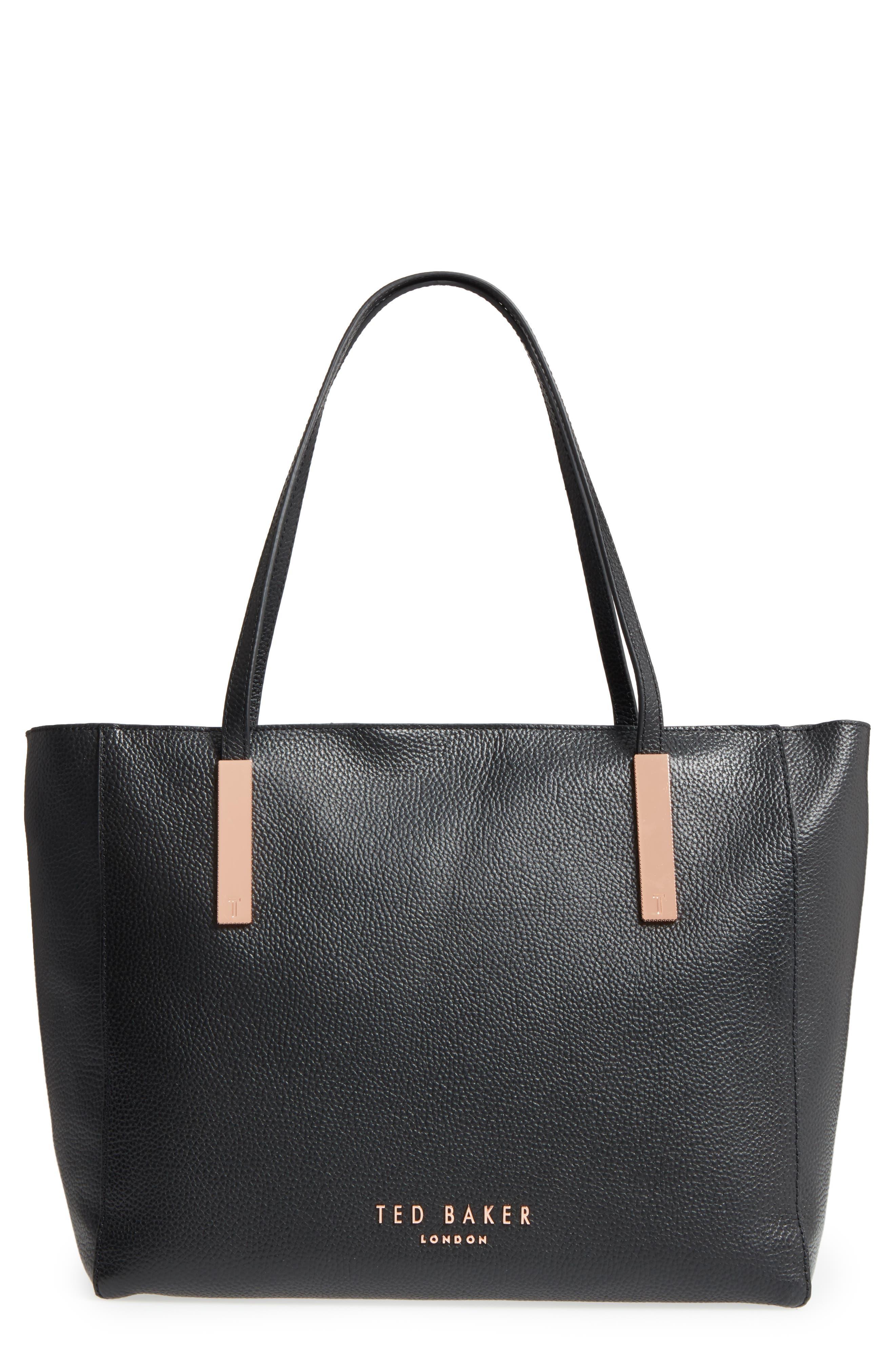 Alternate Image 1 Selected - Ted Baker London Sarahh Leather Shopper