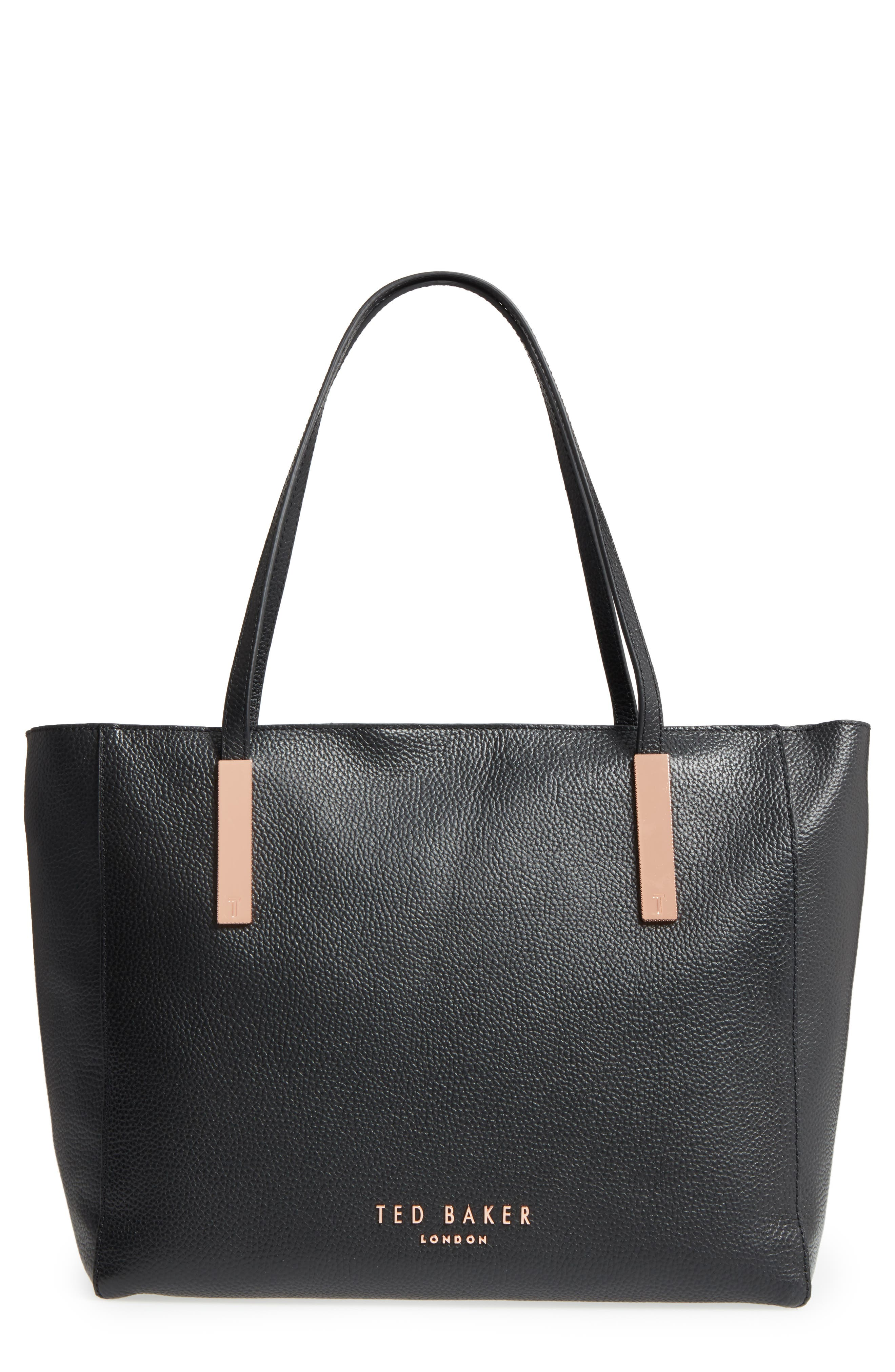 Main Image - Ted Baker London Sarahh Leather Shopper