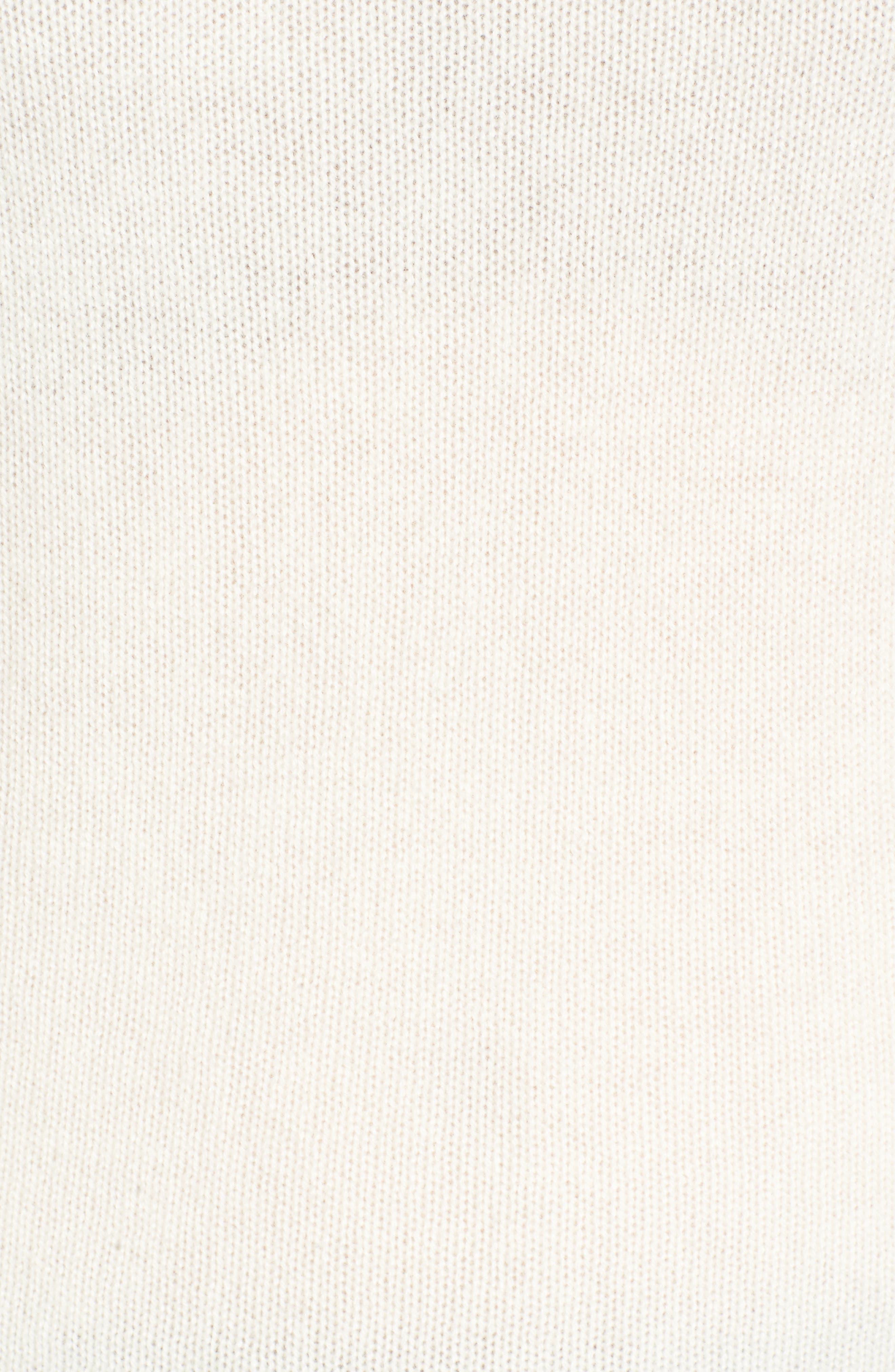 Alternate Image 5  - James Perse Cashmere Crewneck Sweater