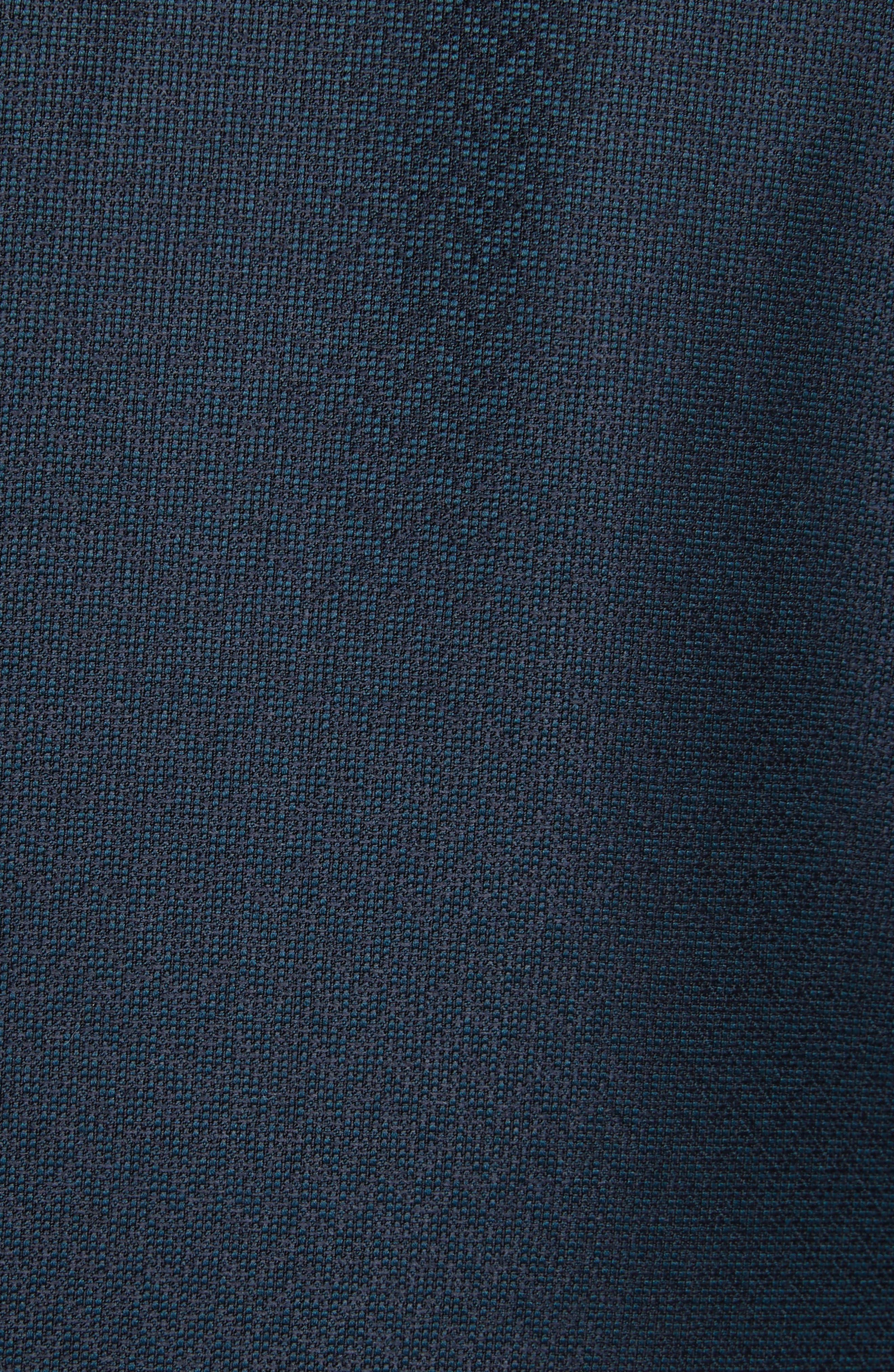 G-Line Trim Fit Wool Dinner Jacket,                             Alternate thumbnail 5, color,                             Blue