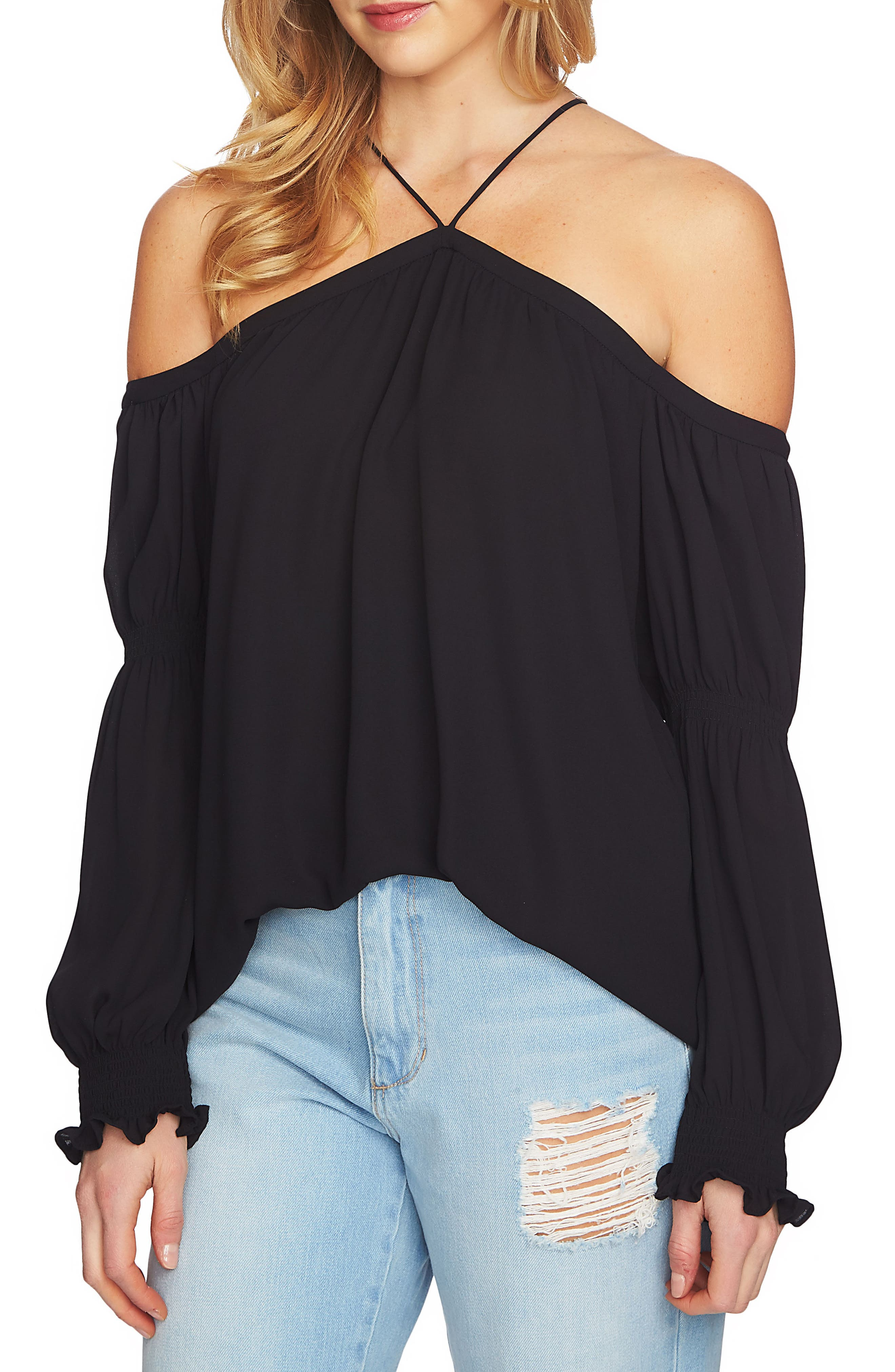 Main Image - 1.STATE Off the Shoulder Blouse