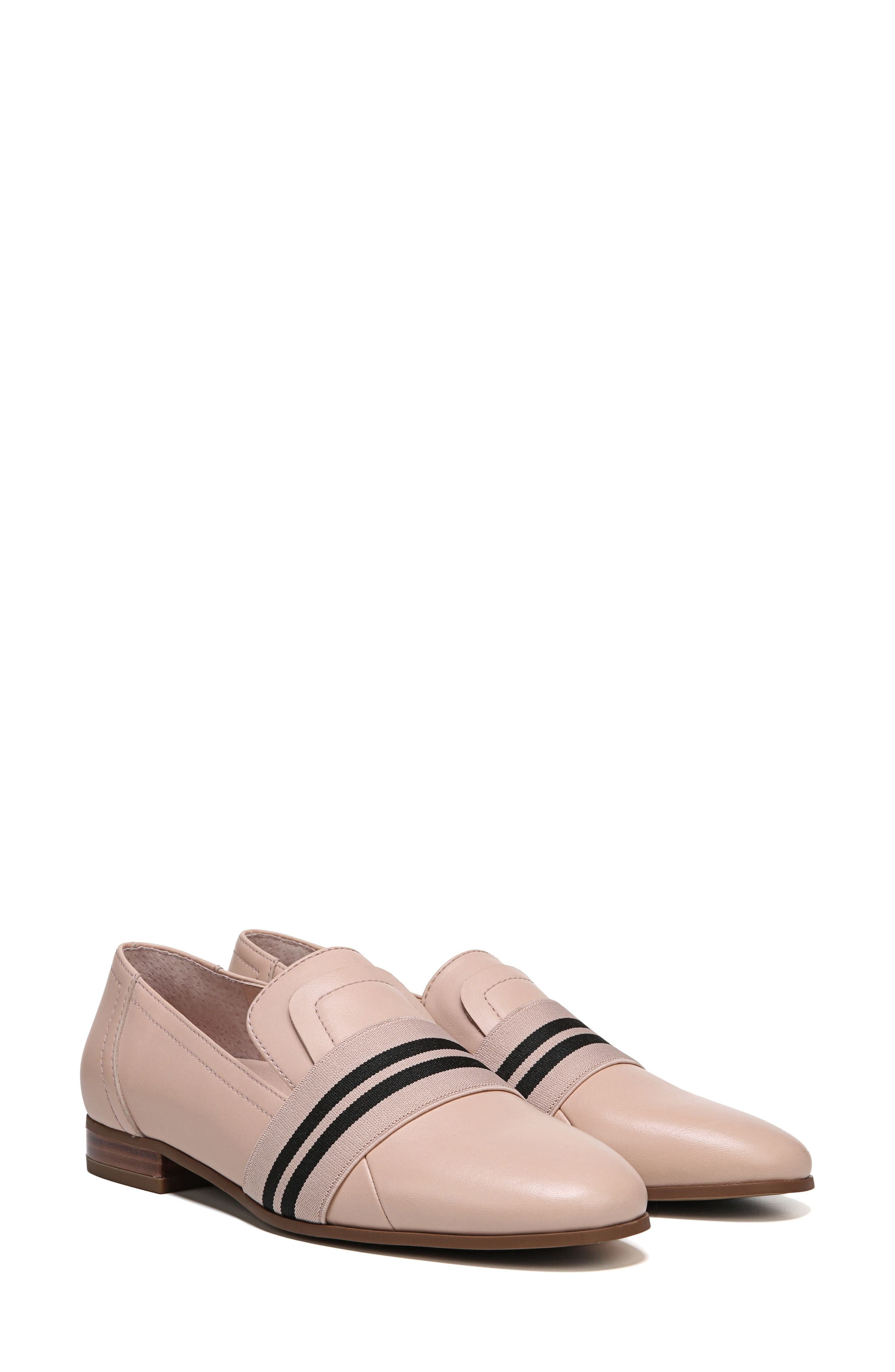 Odyssey Loafer,                             Alternate thumbnail 8, color,                             Blush Leather