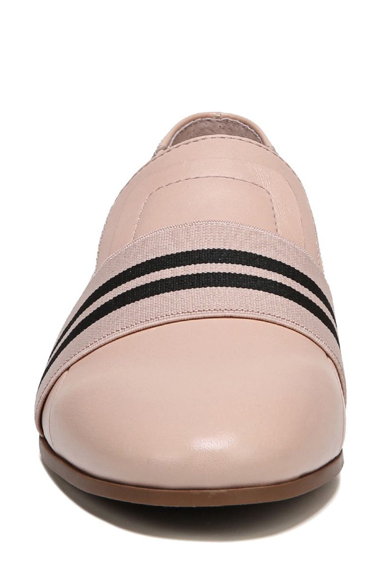 Odyssey Loafer,                             Alternate thumbnail 5, color,                             Blush Leather