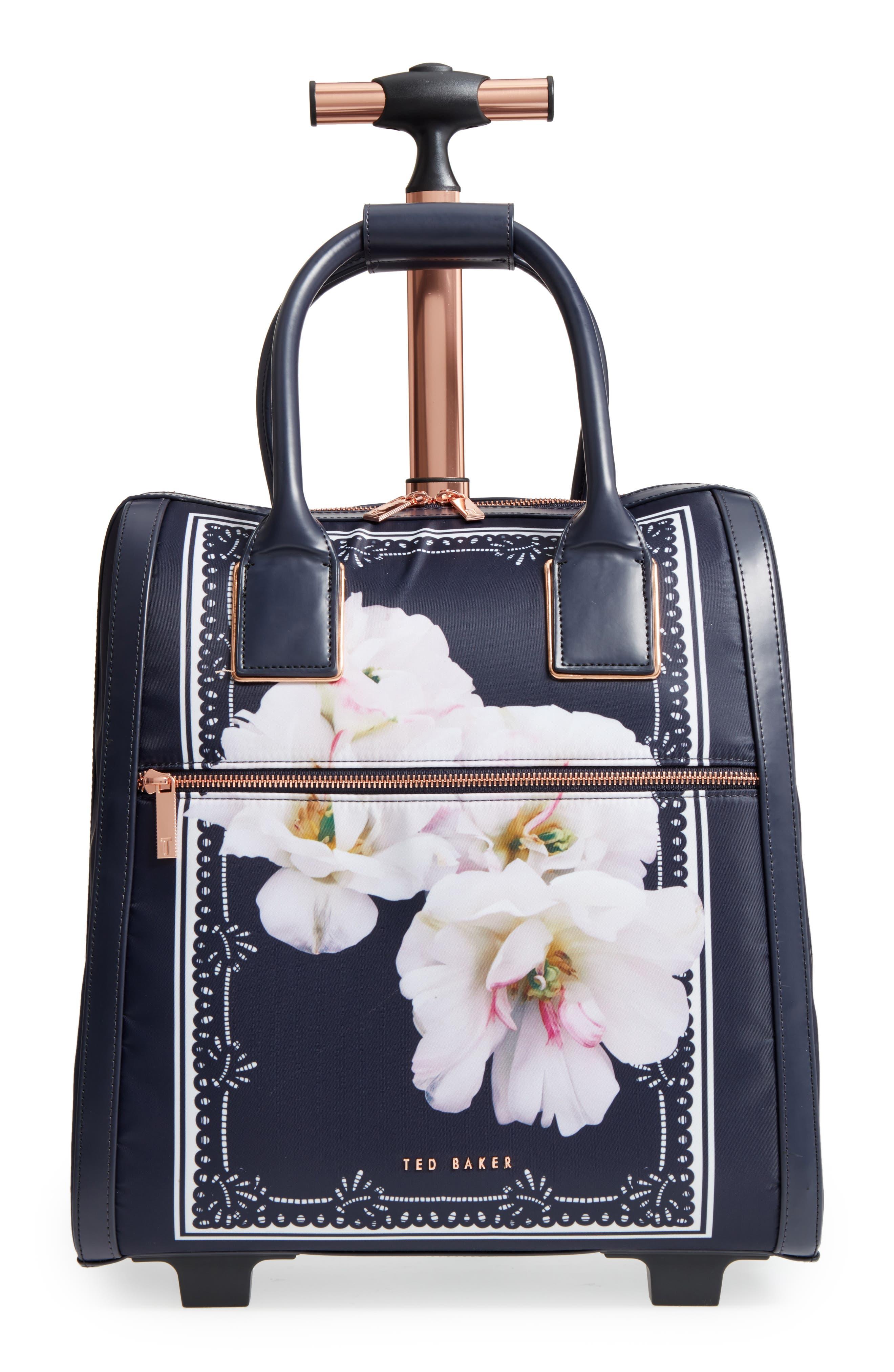 Keturah Gardenia Travel Bag,                             Main thumbnail 1, color,                             Dark Blue