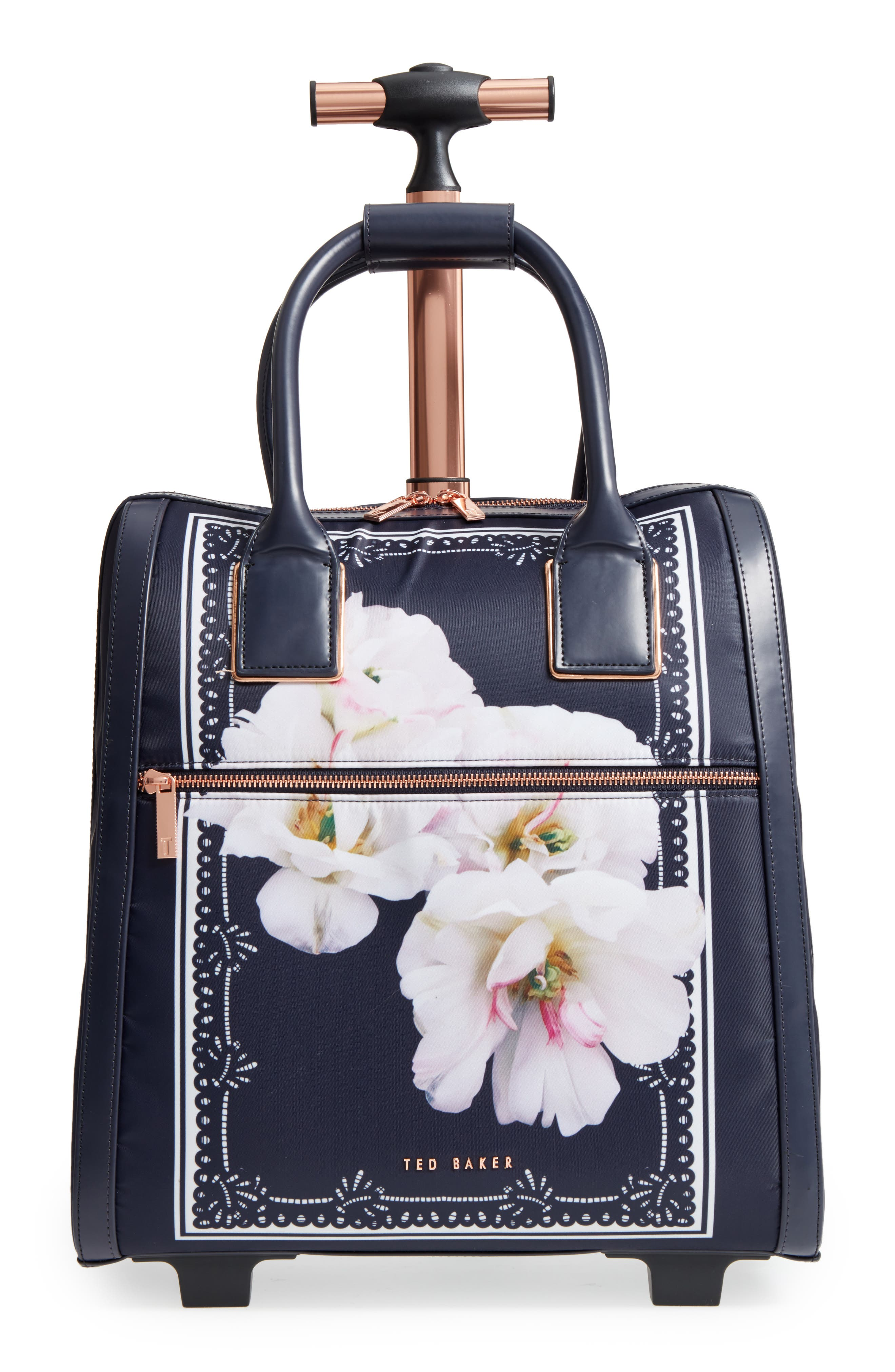 Keturah Gardenia Travel Bag,                         Main,                         color, Dark Blue