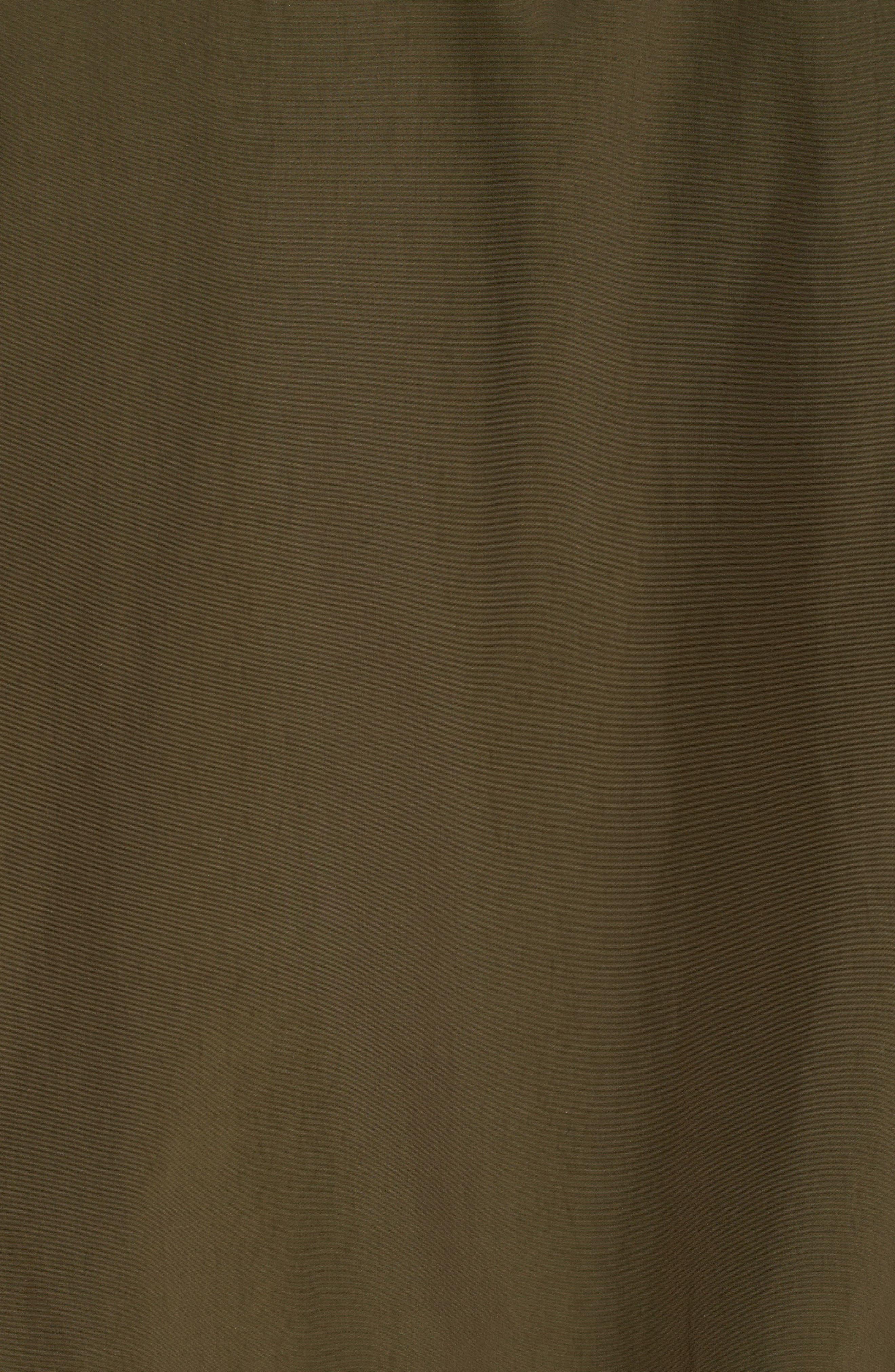 Shore Bomber Jacket,                             Alternate thumbnail 5, color,                             Tenkara Green